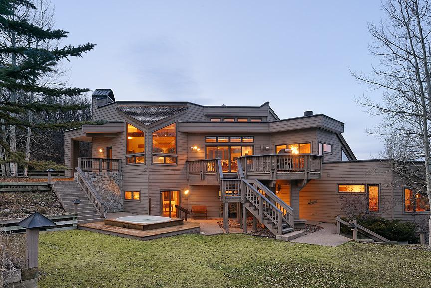 Частный односемейный дом для того Продажа на Fox Run, Lot 14 190 Fox Lane Snowmass Village, Колорадо 81615 Соединенные Штаты