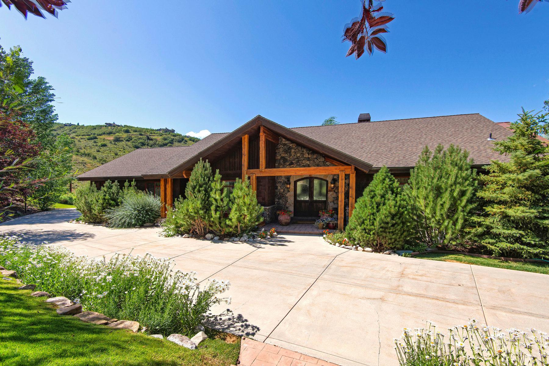 Tek Ailelik Ev için Satış at Mountain Golf Course Masterpiece 3950 Lariat Rd Park City, Utah 84098 Amerika Birleşik Devletleri