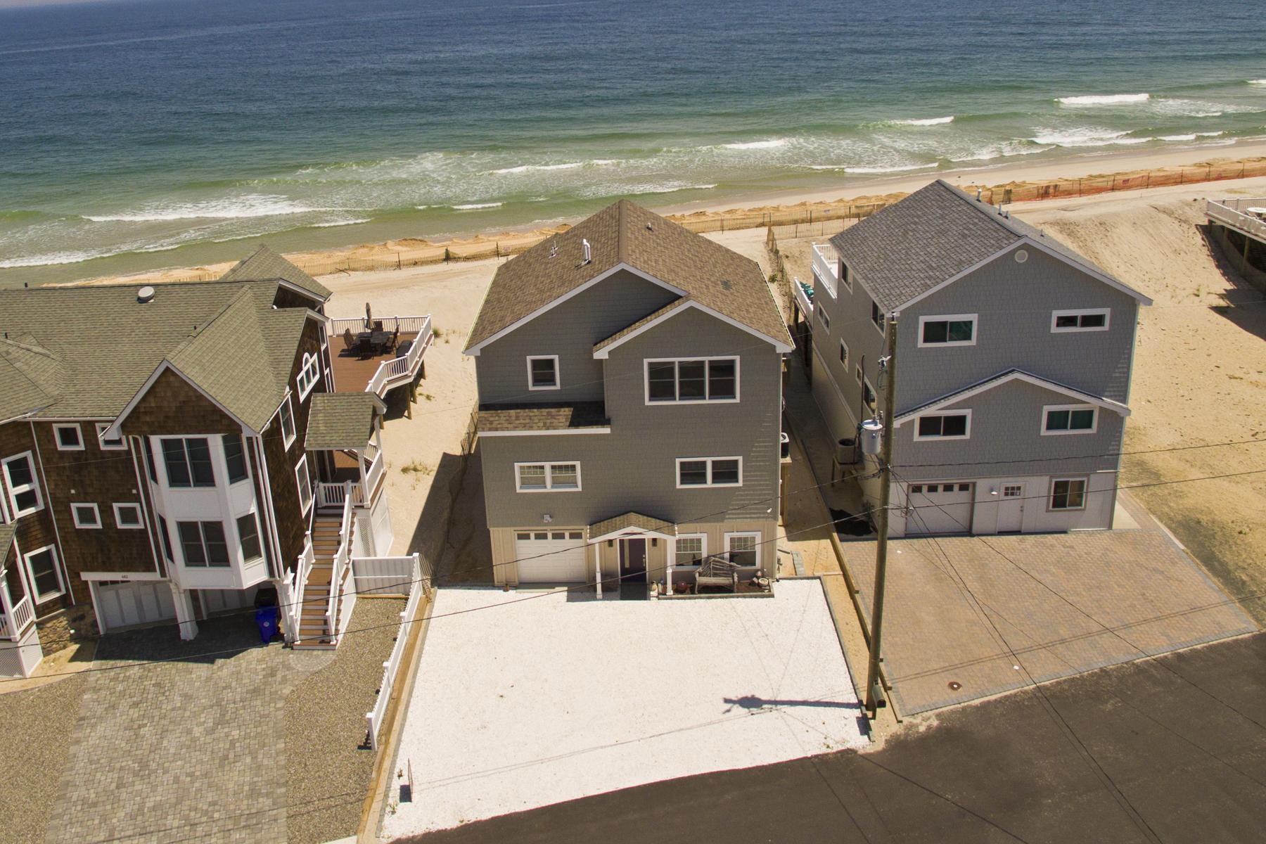 Tek Ailelik Ev için Satış at Newly Renovated Oceanfront 486 Sunset Boulevard Mantoloking, New Jersey, 08738 Amerika Birleşik Devletleri