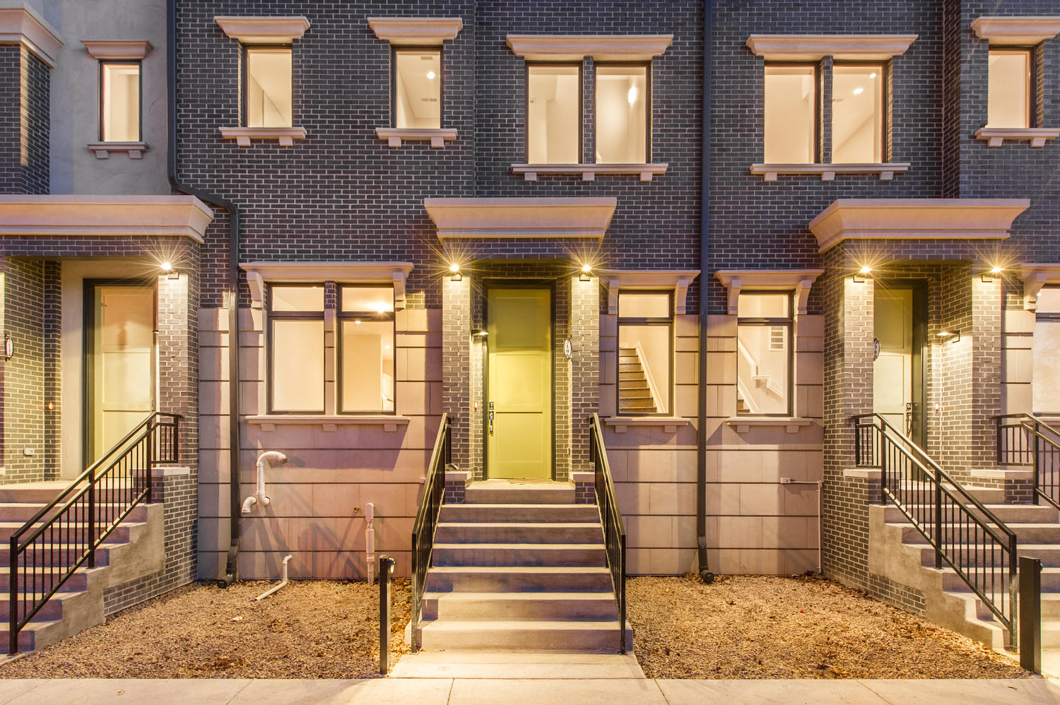 Townhouse for Sale at Brownstones on the Park 3106 East 17th Avenue City Park, Denver, Colorado, 80206 United States