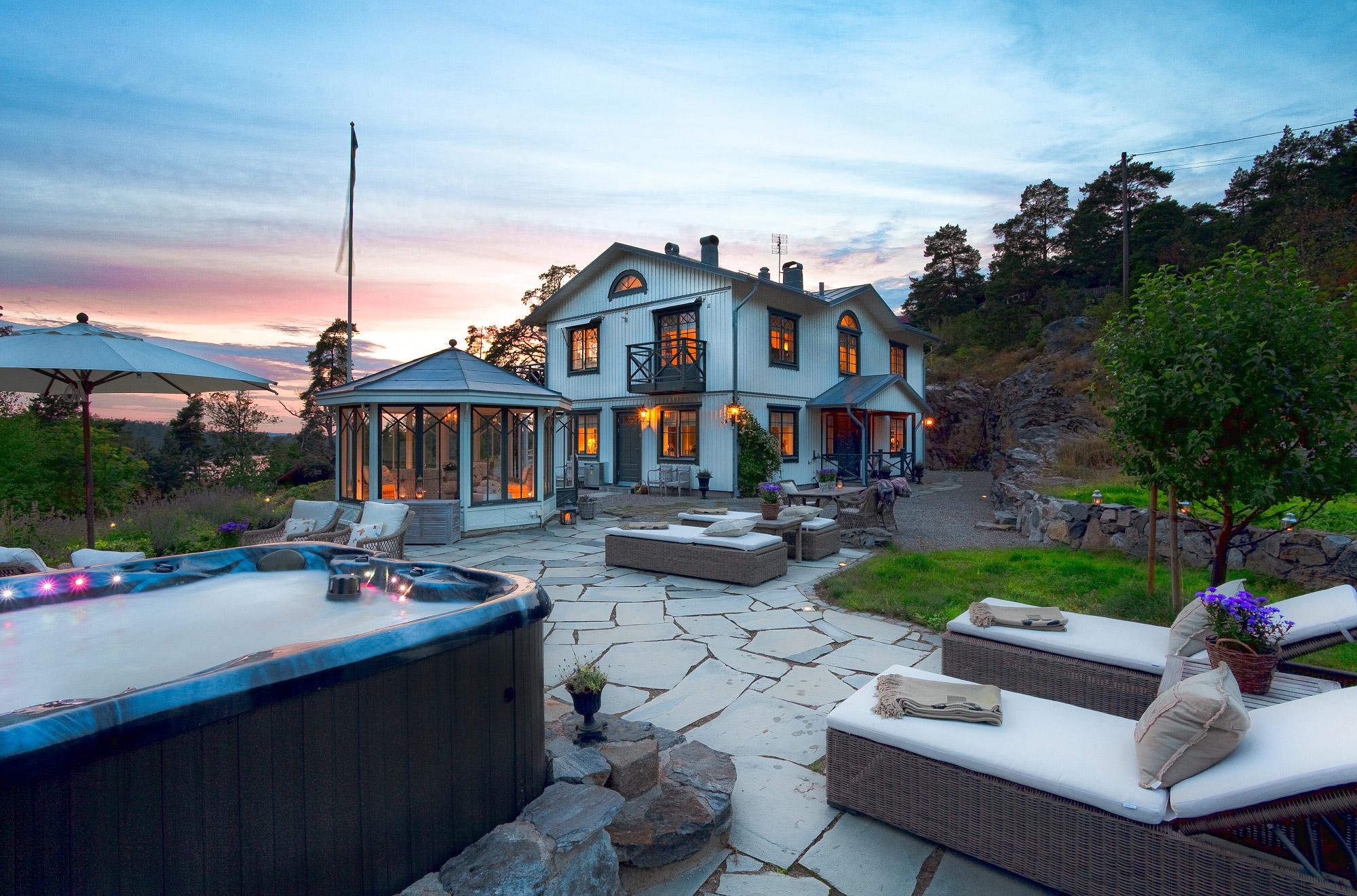 단독 가정 주택 용 매매 에 Classic elegance between the sky and the sea on Älgö Island, Saltsjöbaden Other Stockholm, Stockholm, 스웨덴