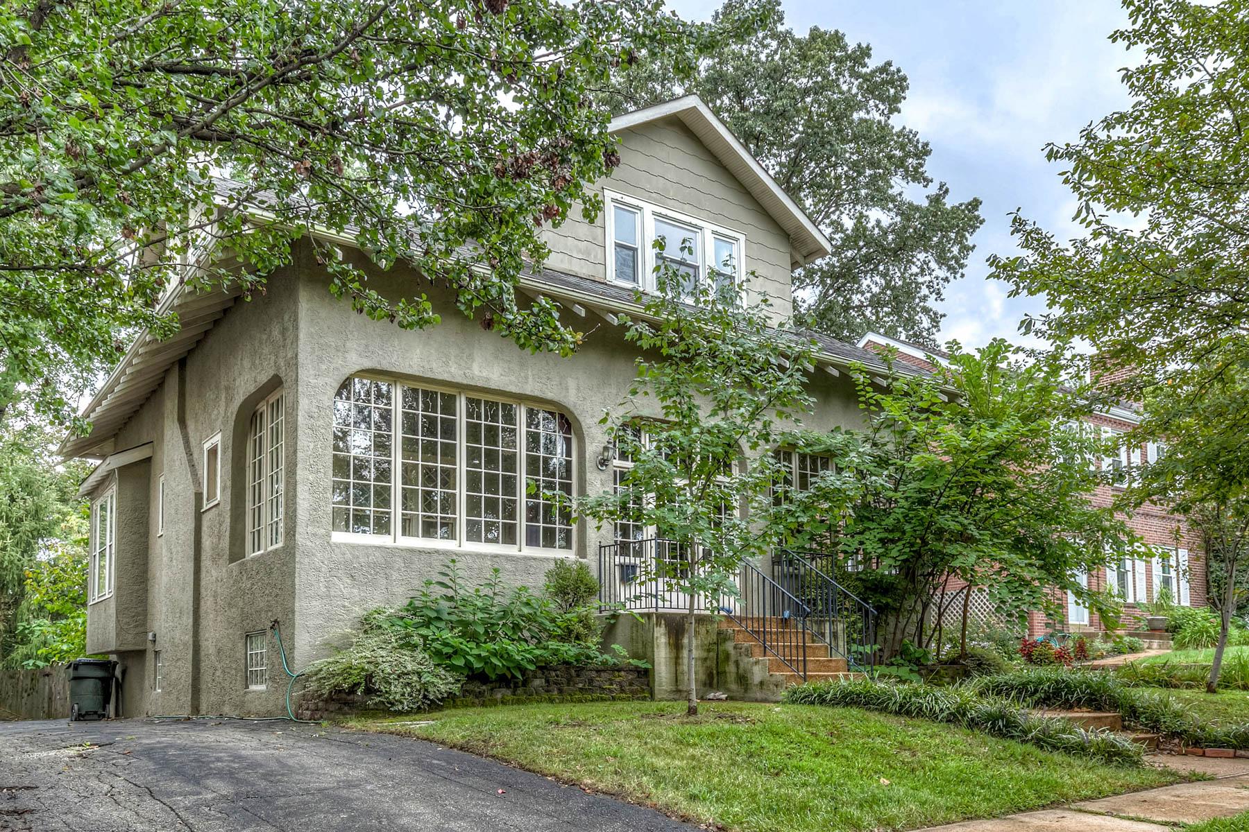 Casa para uma família para Venda às Shaftesbury Ave 7302 Shaftesbury Ave University City, Missouri 63130 Estados Unidos