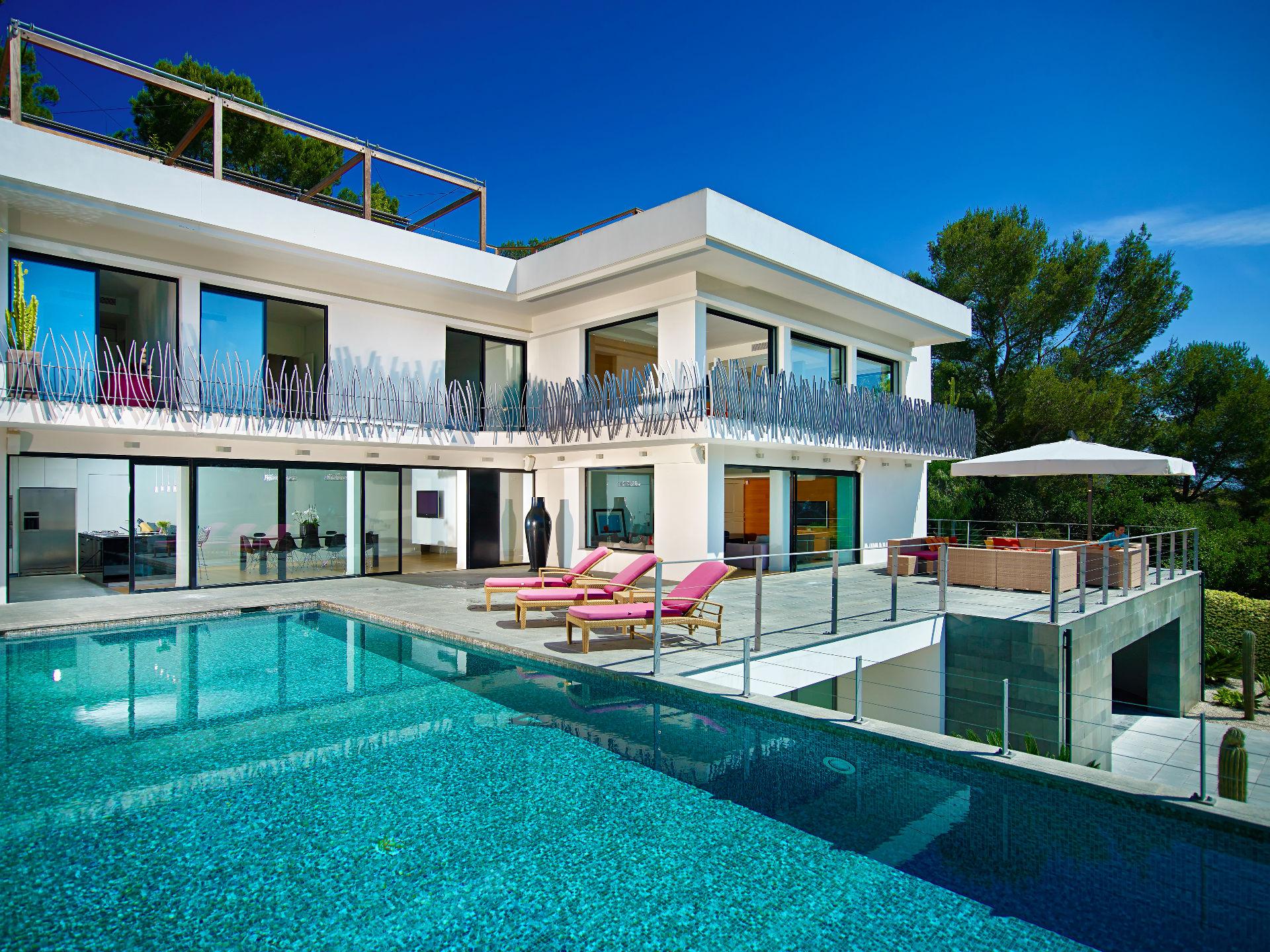 獨棟家庭住宅 為 出售 在 Contemporary villa on the Cap Ferrat Saint Jean Cap Ferrat Saint Jean Cap Ferrat, 普羅旺斯阿爾卑斯藍色海岸, 06230 法國
