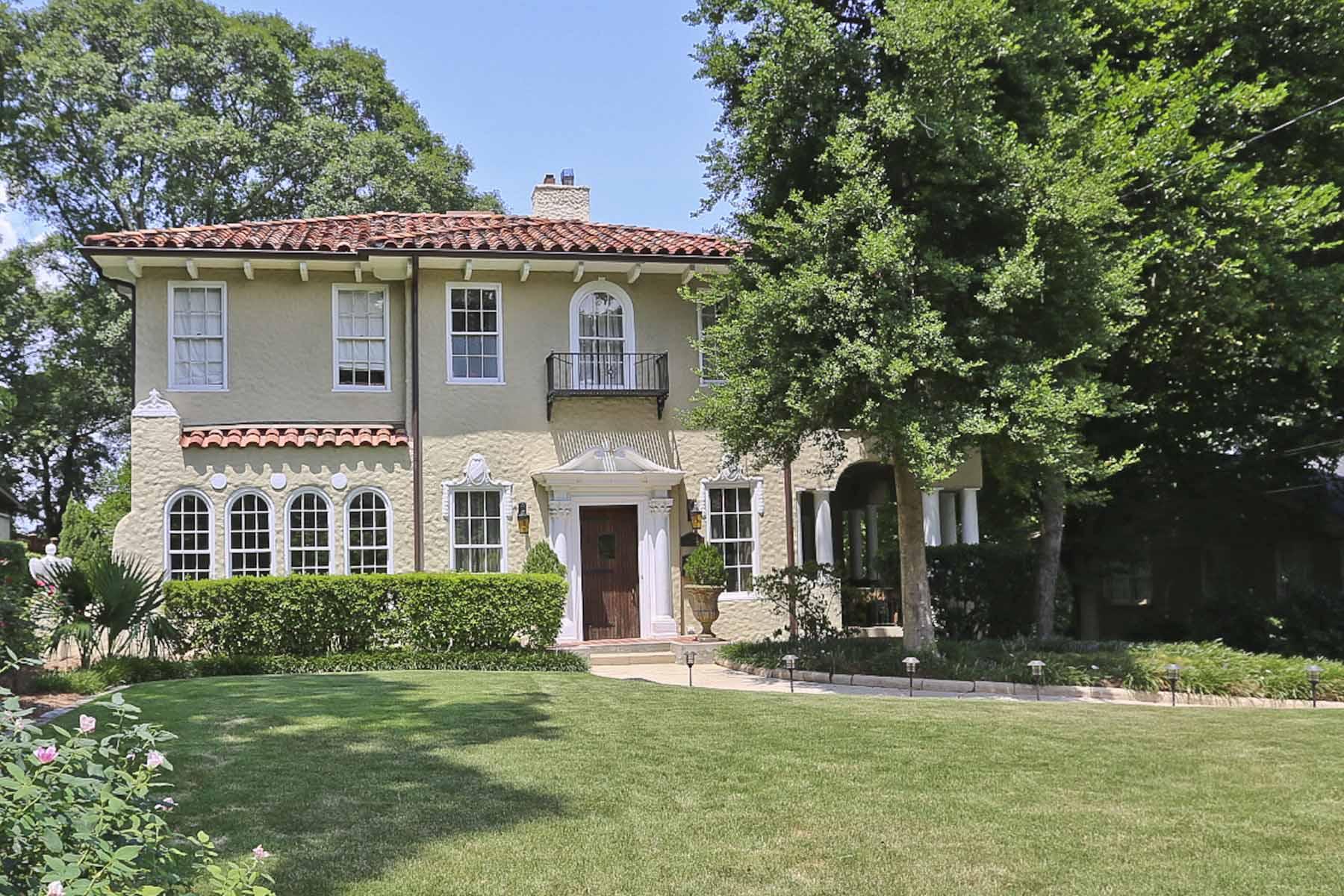 一戸建て のために 売買 アット Classic Mediterranean Style 31 26th Street NW Atlanta, ジョージア 30309 アメリカ合衆国