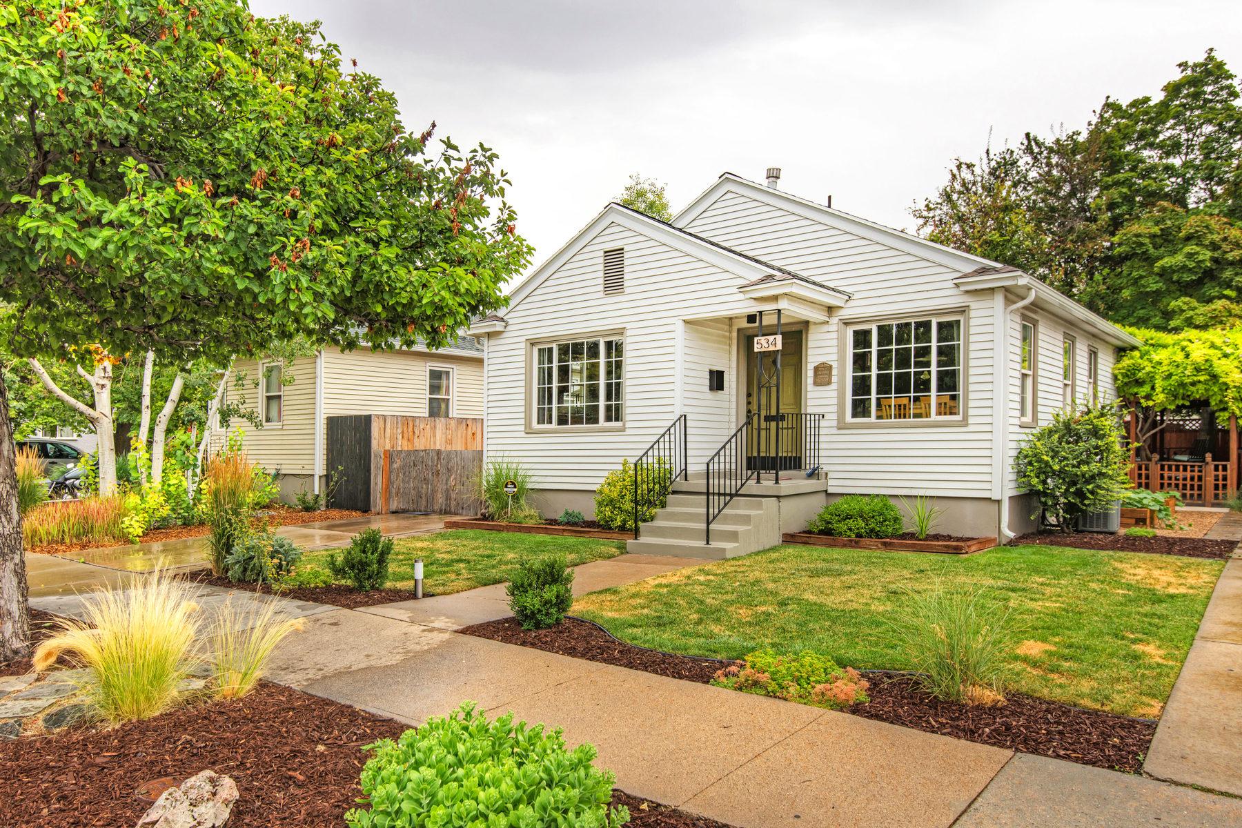 Single Family Home for Sale at Liberty Park Tranquility 534 Downington Ave Salt Lake City, Utah 84105 United States