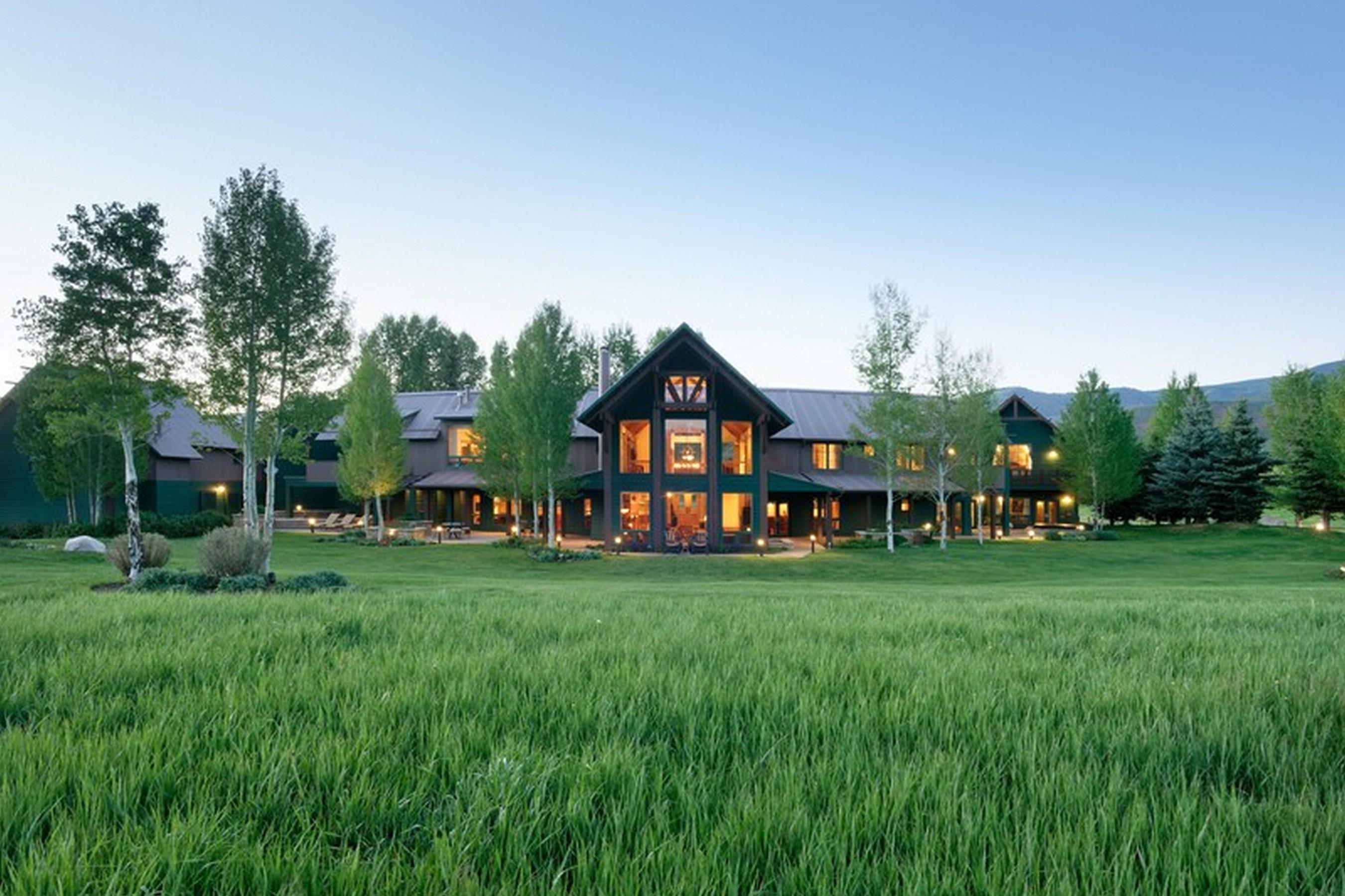 Tek Ailelik Ev için Satış at The Pastoral Life 910 White Star Drive McLain Flats, Aspen, Colorado, 81611 Amerika Birleşik Devletleri