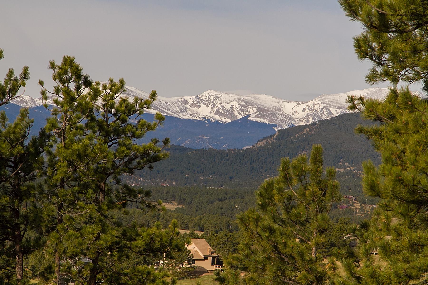 Property For Sale at Snow Cap Mount Evans Views!