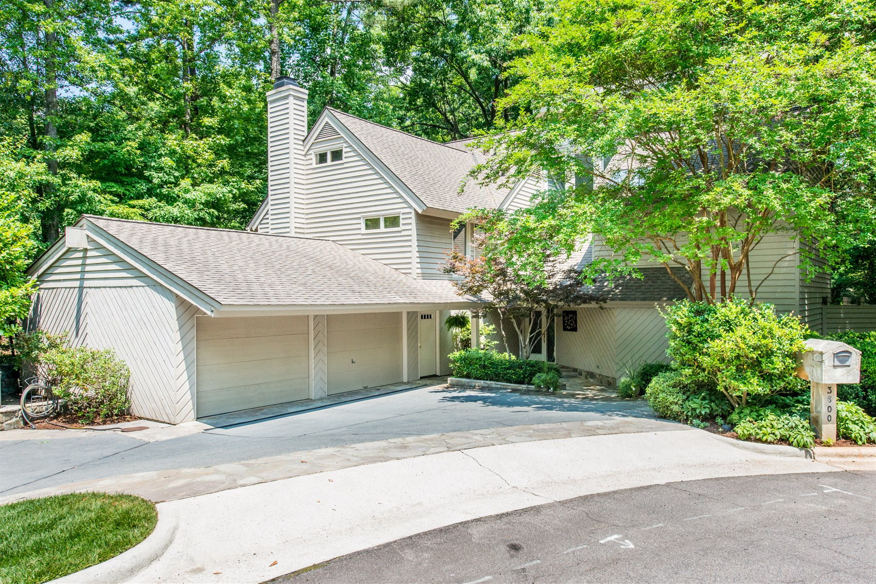 Single Family Home for Sale at Coley Forest Contemporary 3600 Ranlo Drive Raleigh, North Carolina 27612 United States