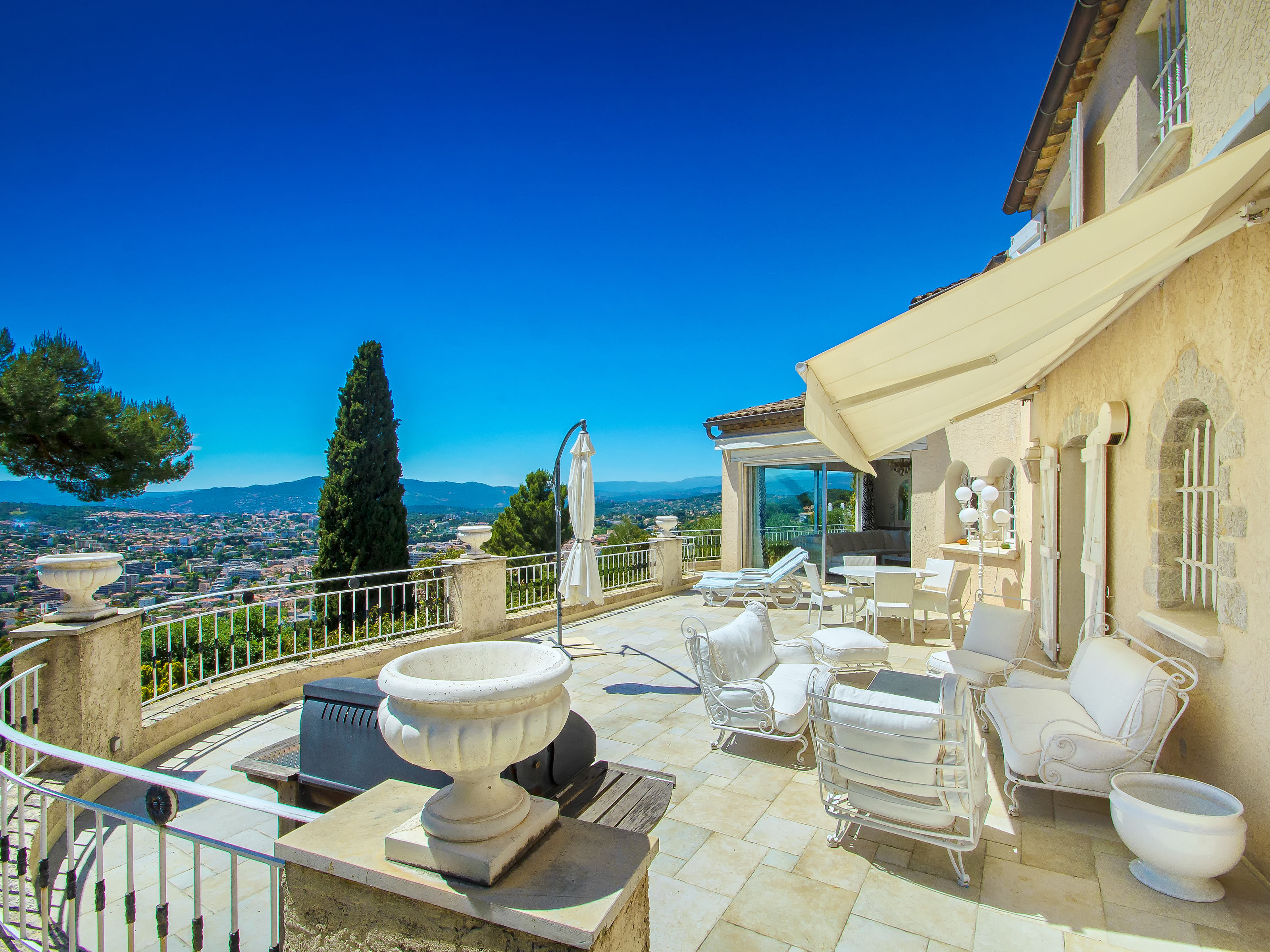 Single Family Home for Sale at Le Cannet, residential area, Panoramic sea view Cannes, Provence-Alpes-Cote D'Azur France