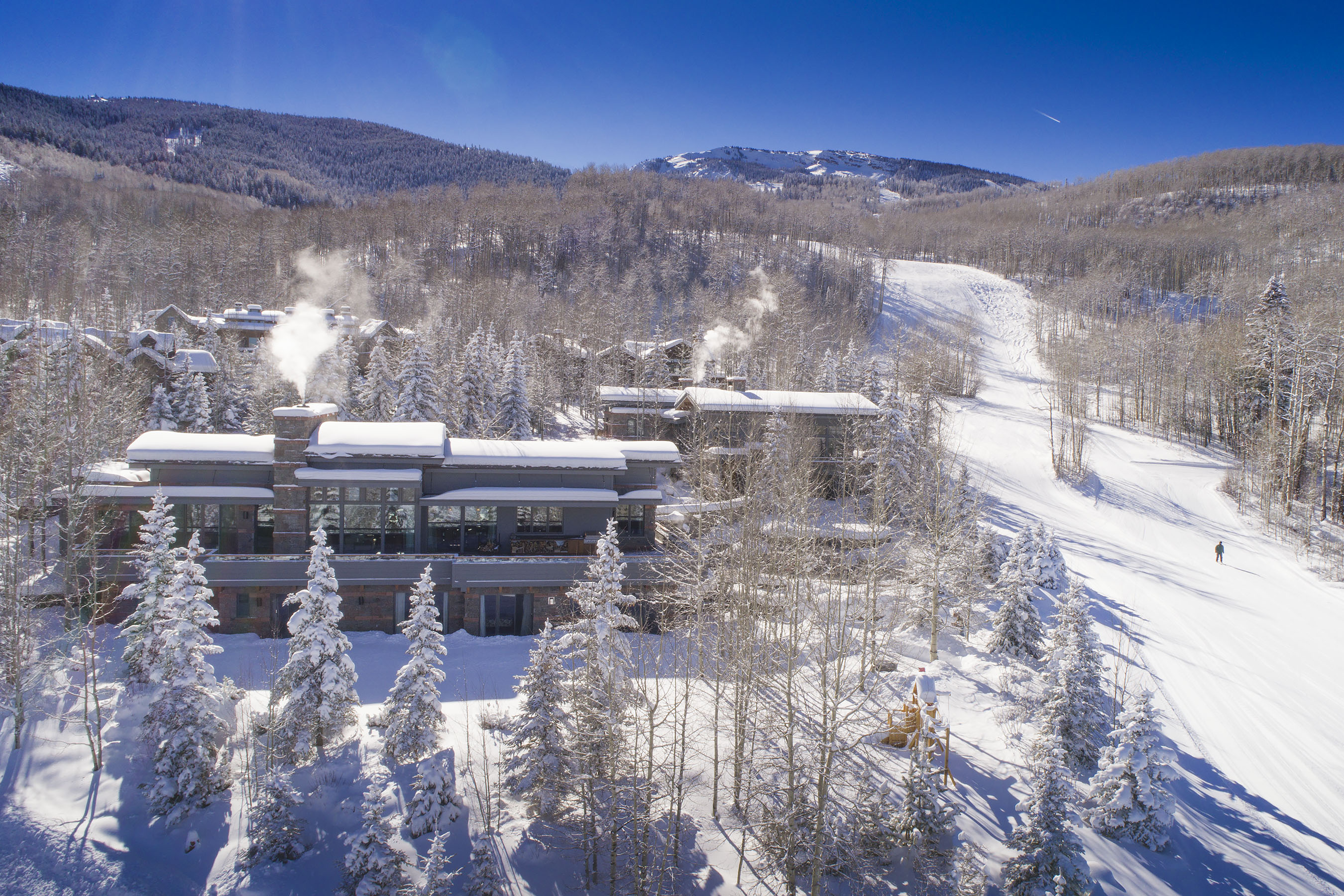 Villa per Vendita alle ore Slopeside Estate 183 E. Fork Lane Snowmass Village, Colorado, 81615 Stati Uniti