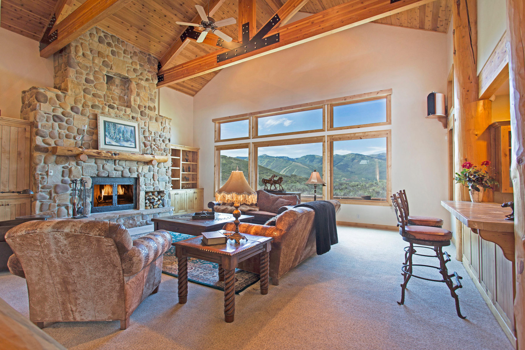 Single Family Home for Sale at Park Meadows Home with Rare Privacy and Great Views 2705 Silver Cloud Dr Park City, Utah 84060 United States