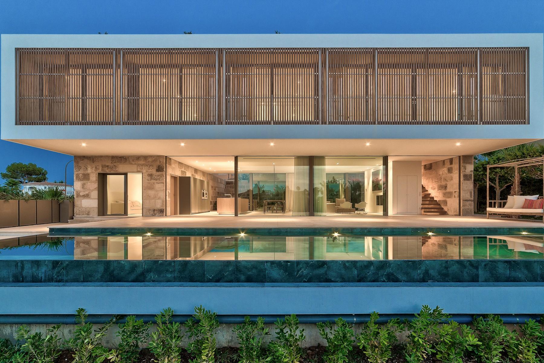 Nhà ở một gia đình vì Bán tại Modern, newly built sea view villa in Santa Ponsa Nova Santa Ponsa, Mallorca 07180 Tây Ban Nha