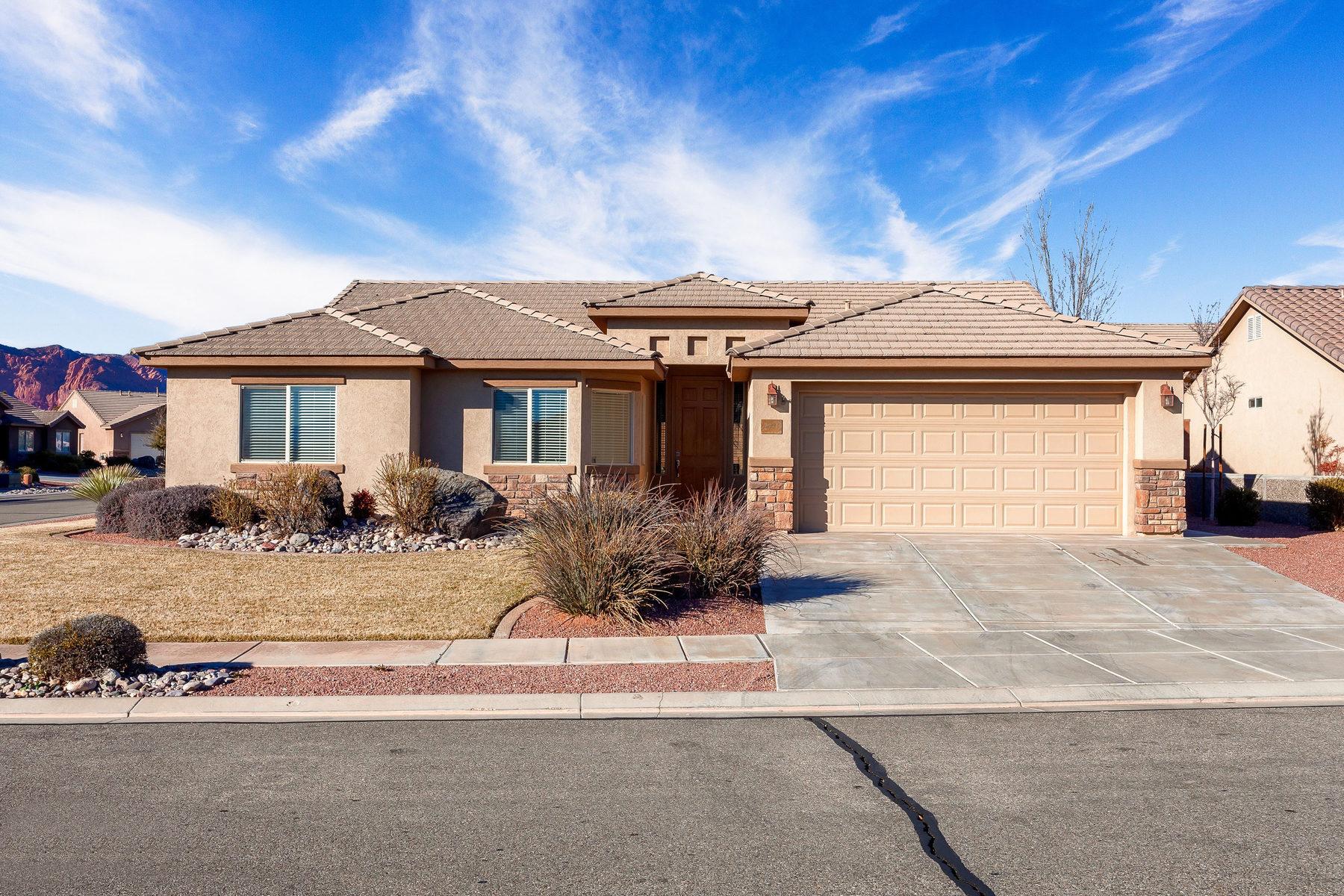 Casa para uma família para Venda às Hidden Treasure 2194 West 1420 North St. George, Utah 84770 Estados Unidos