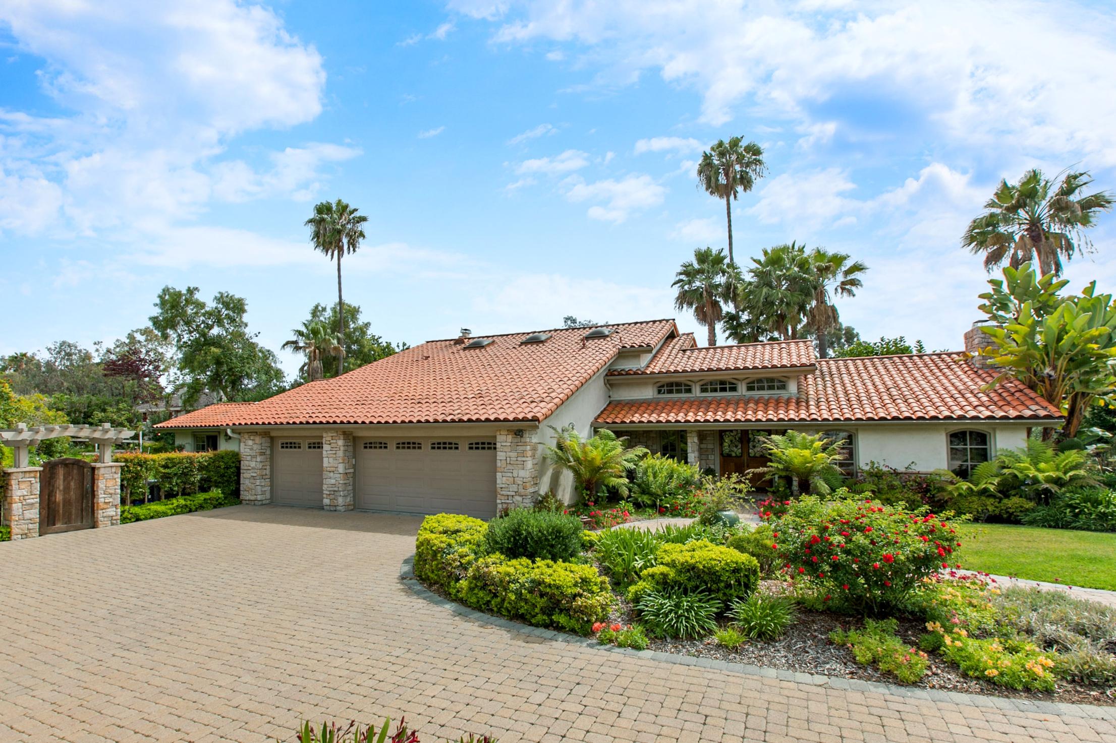 Casa Unifamiliar por un Venta en 7317 Siete Leguas Rancho Santa Fe, California 92067 Estados Unidos