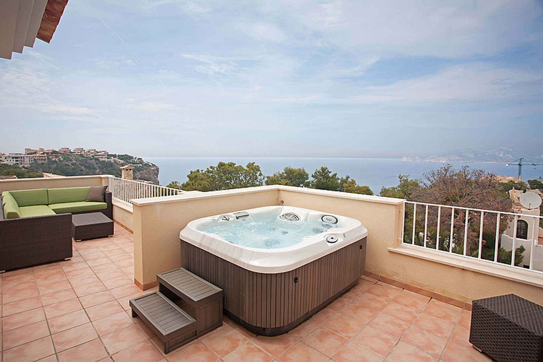 Tek Ailelik Ev için Satış at Semi-detached villa in Puerto de Andratx Port Andratx, Mallorca 07157 Ispanya