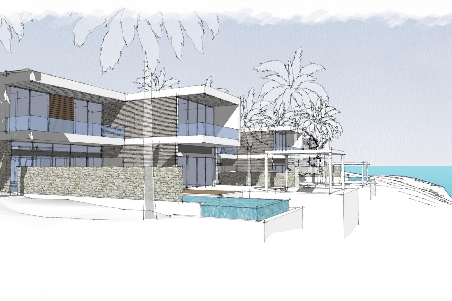 Casa para uma família para Venda às Gansevoort Villa - 4 Bedroom Design Waterfront Turtle Tail, Providenciales TCI Turks E Caicos