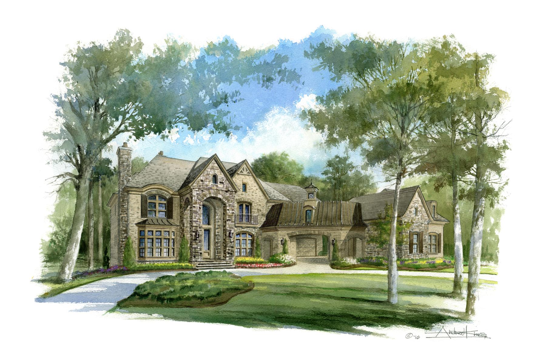 Single Family Home for Sale at Luxury Redefined 10145 Cedar Ridge Drive Milton, Georgia, 30004 United States