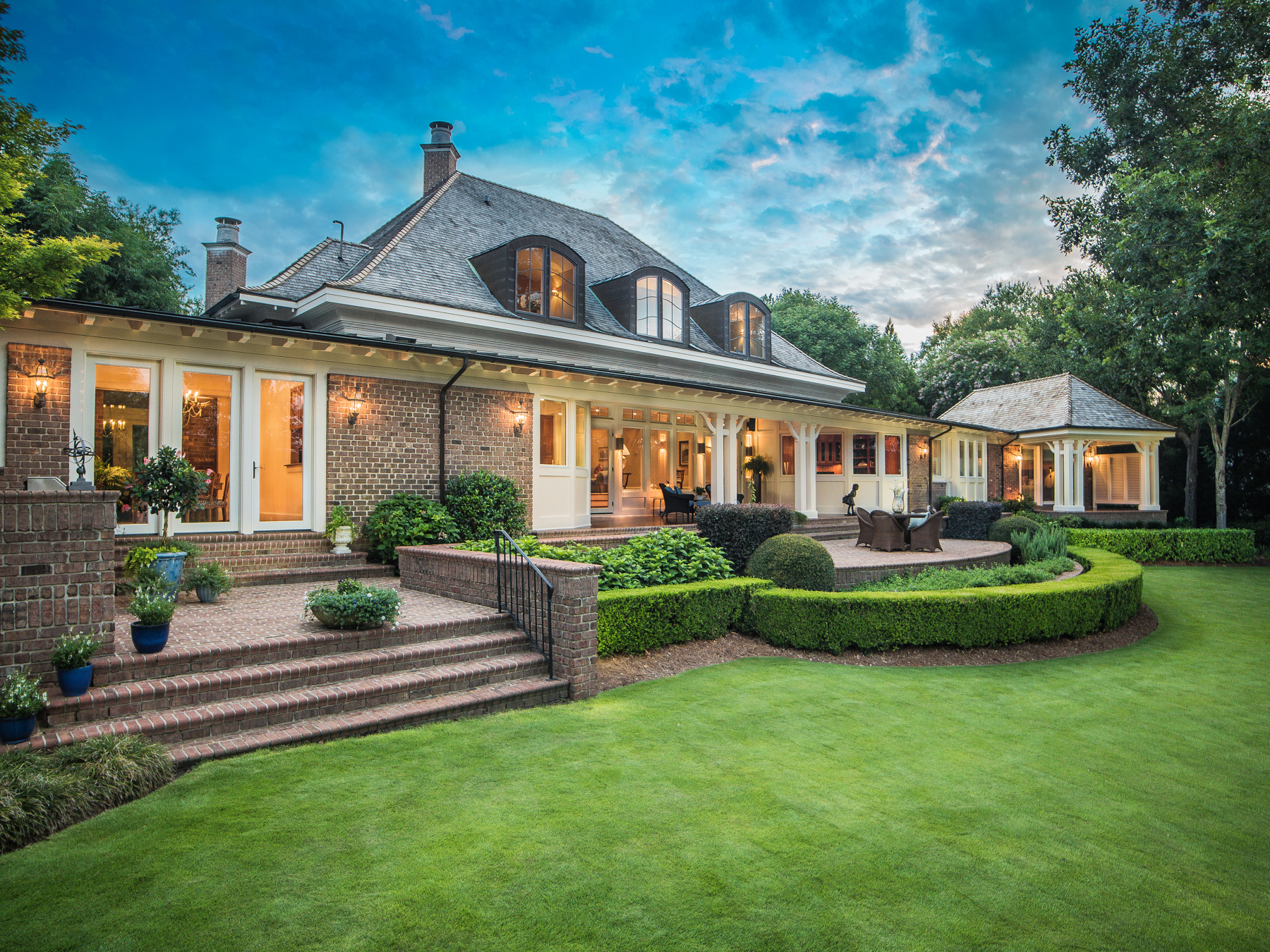Single Family Home for Sale at Exquisite details define this inspired waterfront estate 2001 Balmoral Place Landfall, Wilmington, North Carolina, 28405 United States