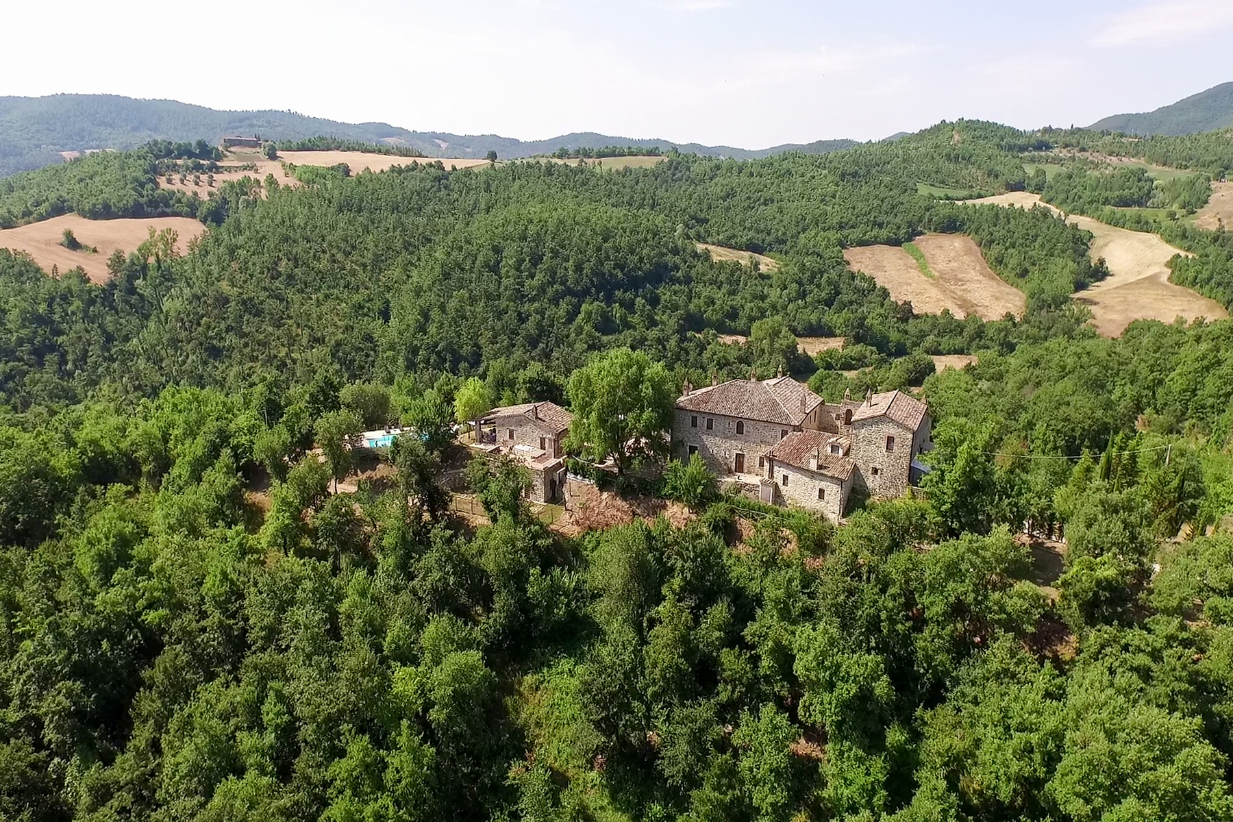 Single Family Home for Sale at Ancient monastery close to Perugia Umbertide Perugia, Perugia 06019 Italy