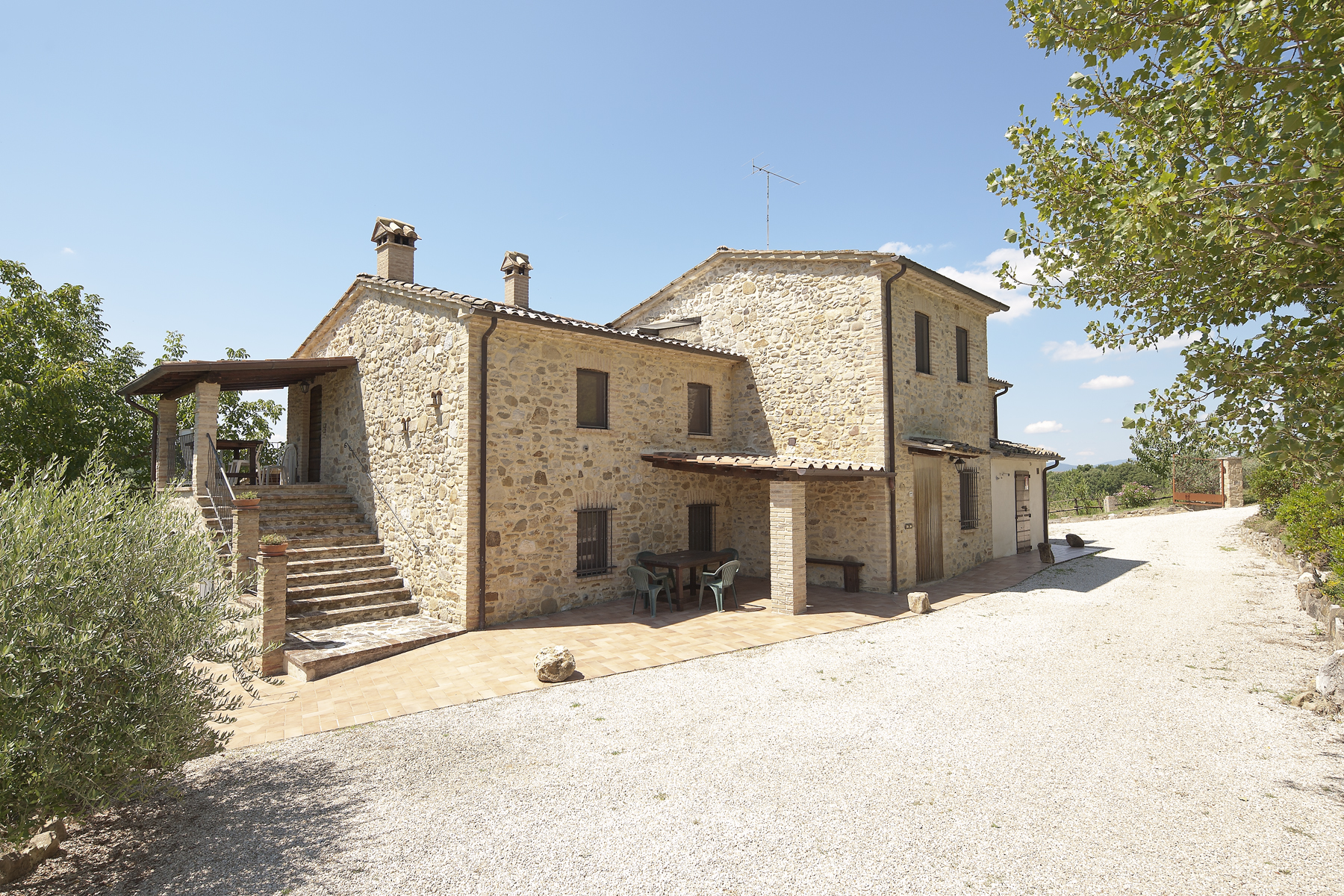Single Family Home for Sale at Unique county homes in Umbrian countryside Umbertide Perugia, Perugia 06019 Italy