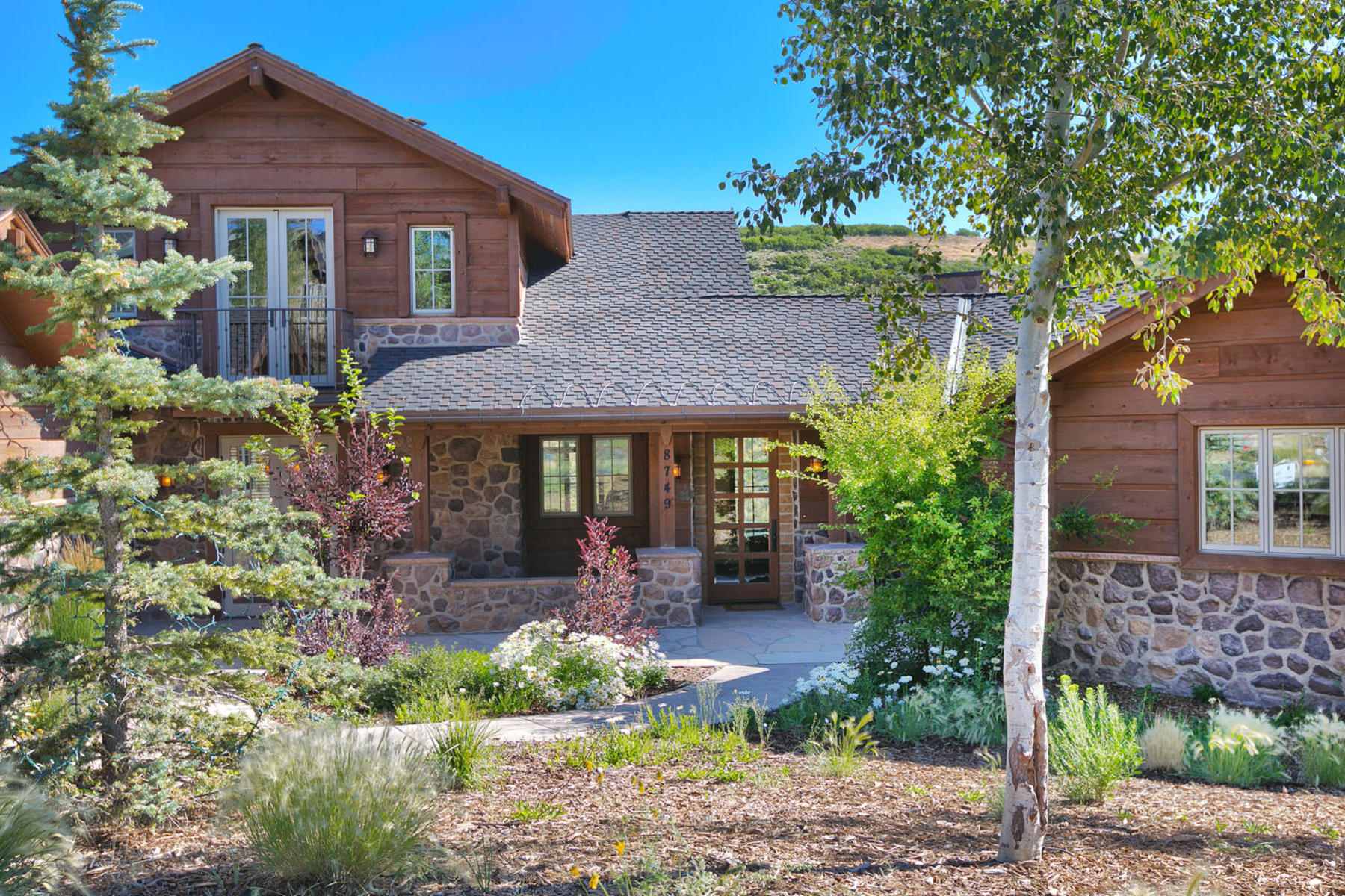 "Single Family Home for Sale at Expanded ""Remington"" Golf Club Cabin With Movie Theatre 8749 Ranch Club Ct Park City, Utah, 84098 United States"