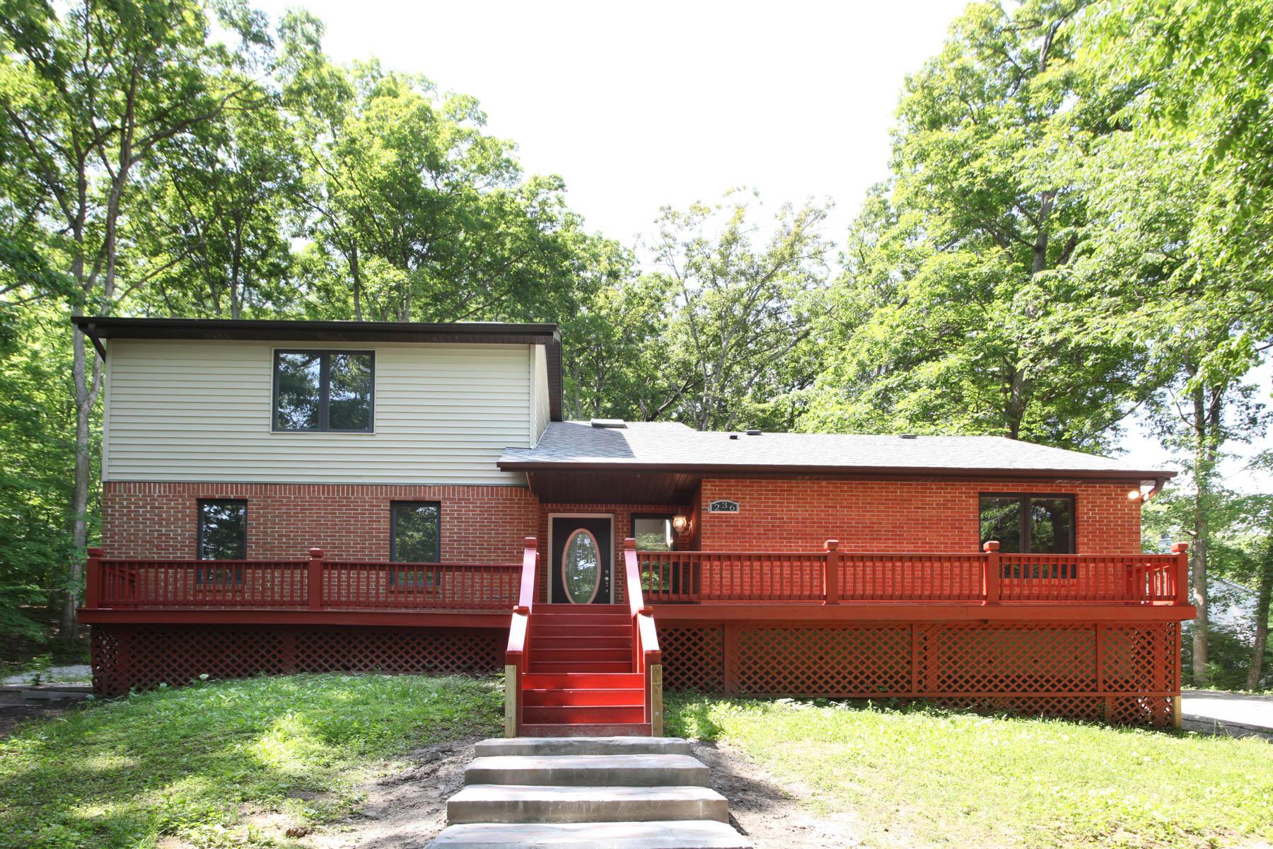 단독 가정 주택 용 매매 에 Hickory Lane 236 Hickory Lane Eureka, 미주리, 63025 미국