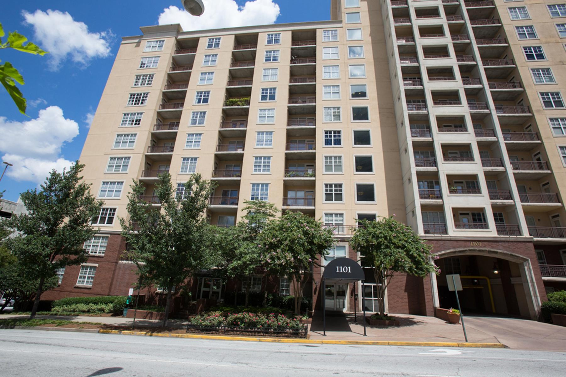 Condominium for Sale at Midtown Condo 1101 Juniper Street NE #1022 Atlanta, Georgia 30309 United States
