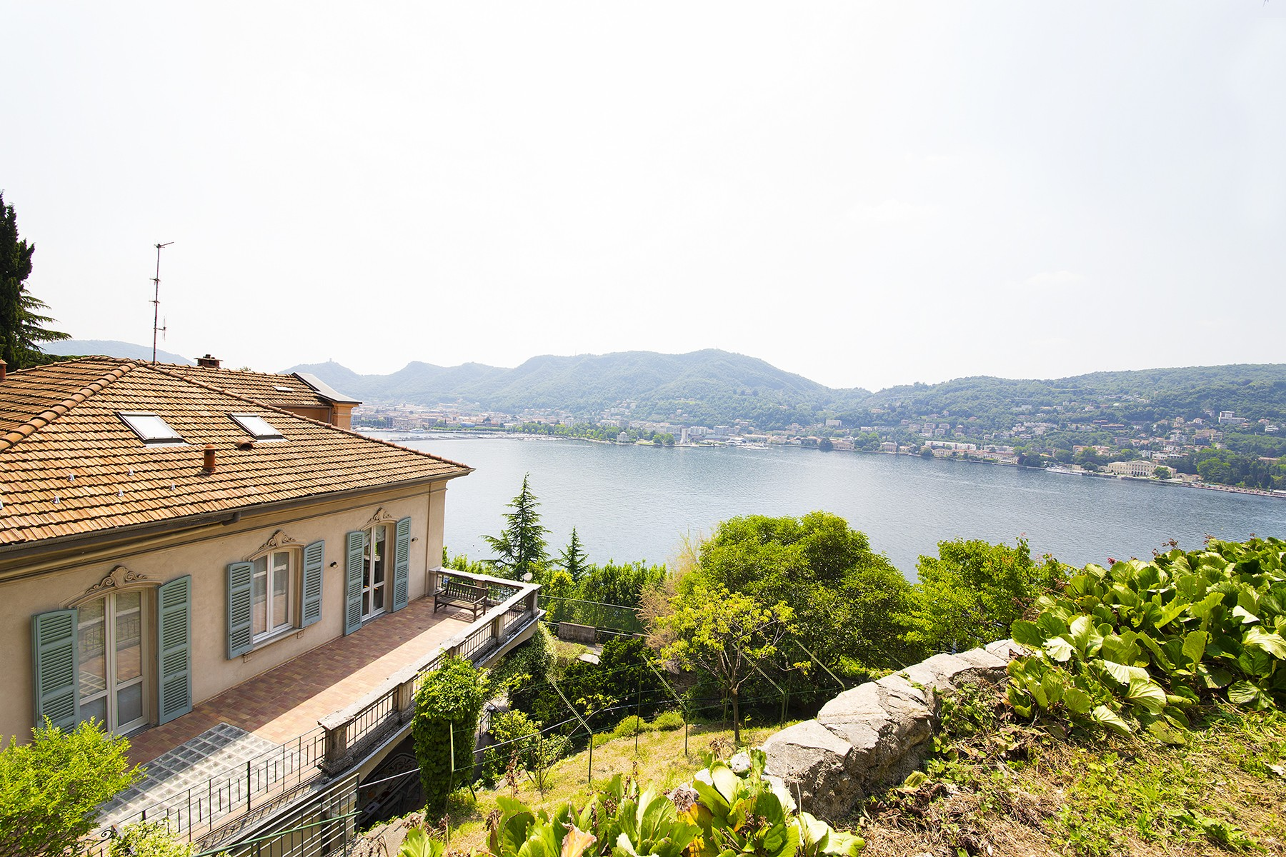 Single Family Home for Sale at Historic villa in the best panoramic area of the city of Como Via Torno Como, Como 22100 Italy