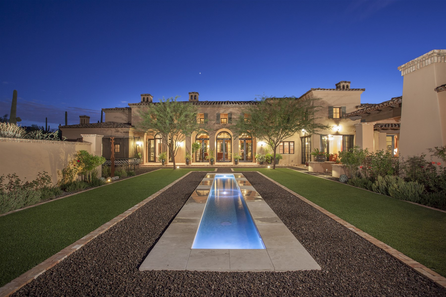 Single Family Home for Sale at Beautifully Crafted Luxury Estate in Guard Gated Silverleaf's Upper Canyon 11038 E Saguaro Canyon Trail #1531 Scottsdale, Arizona 85255 United States