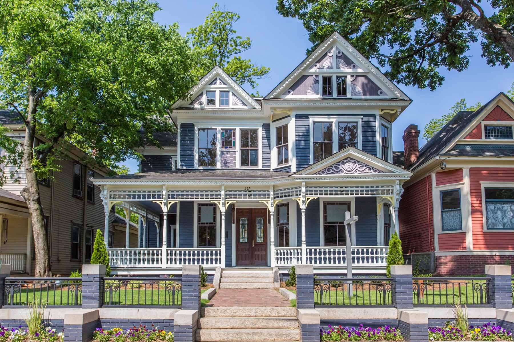 Moradia para Venda às Historic Grant Park Showstopper 367 Park Avenue SE Grant Park, Atlanta, Geórgia, 30312 Estados Unidos