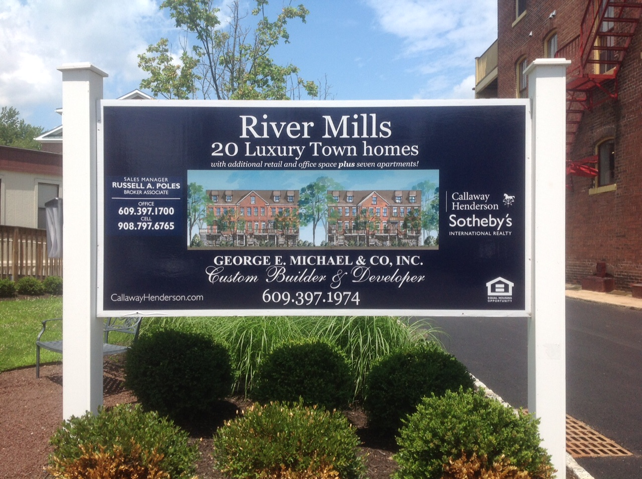 Property Of Twenty Outstanding Waterfront Townhouses