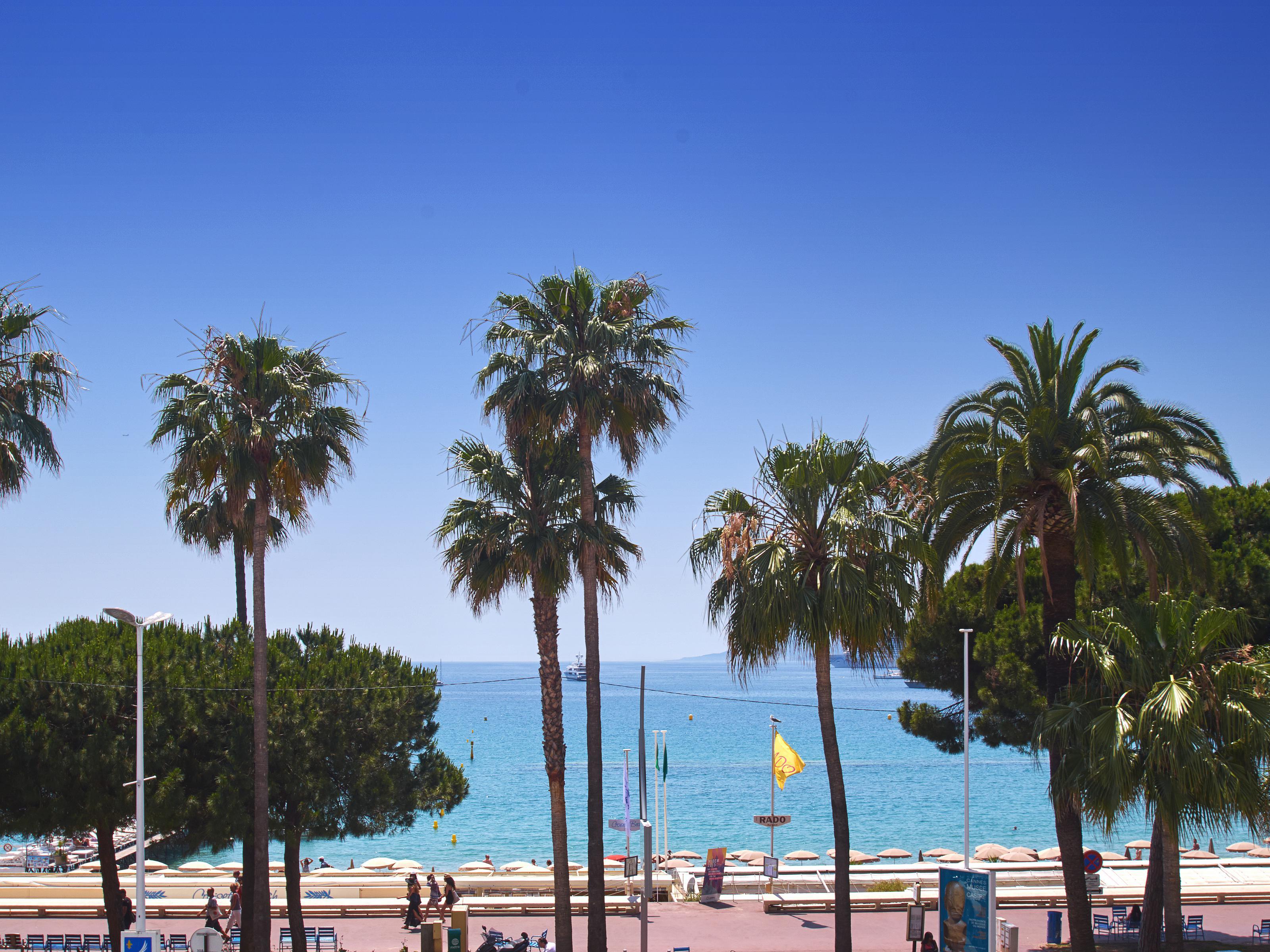 Apartman Dairesi için Satış at Cannes Croisette, luxurious 2 roomed apartment with sea view Cannes, Provence-Alpes-Cote D'Azur 06400 Fransa