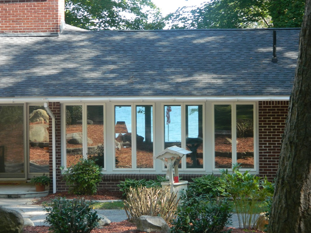 Property For Sale at Mid-Century Modern Cottage on Burt Lake