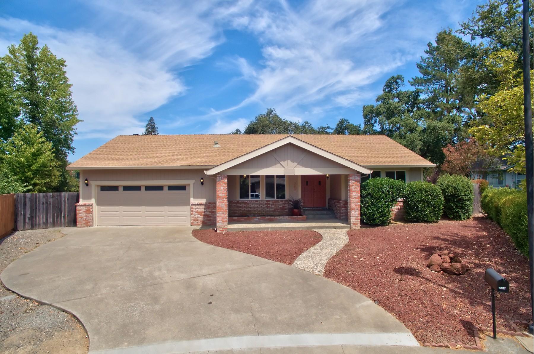 Maison unifamiliale pour l Vente à 289 Alexandria Court Healdsburg, Californie 95448 États-Unis
