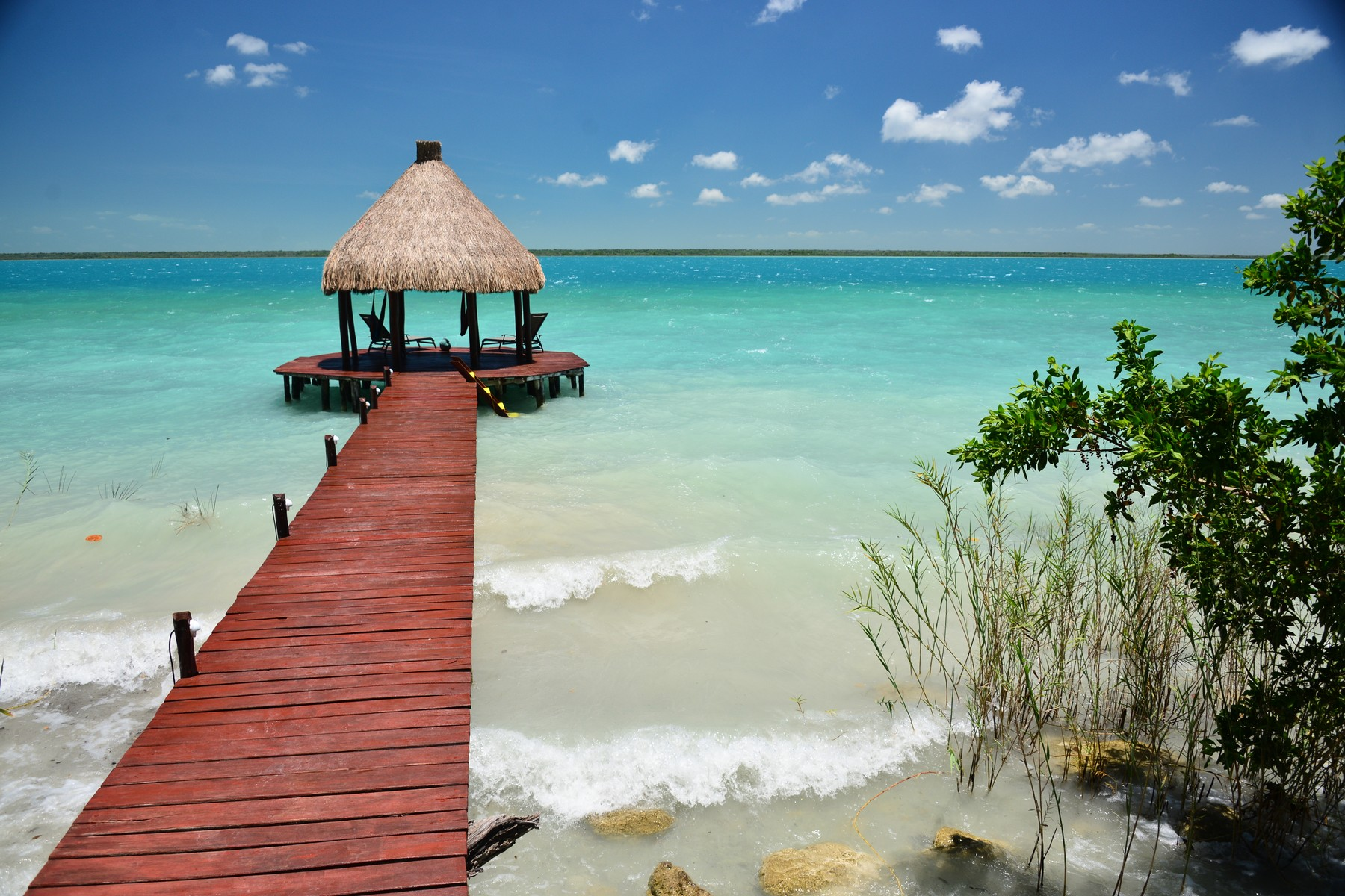 HIDDEN PARADISE ON LAGOON BACALAR