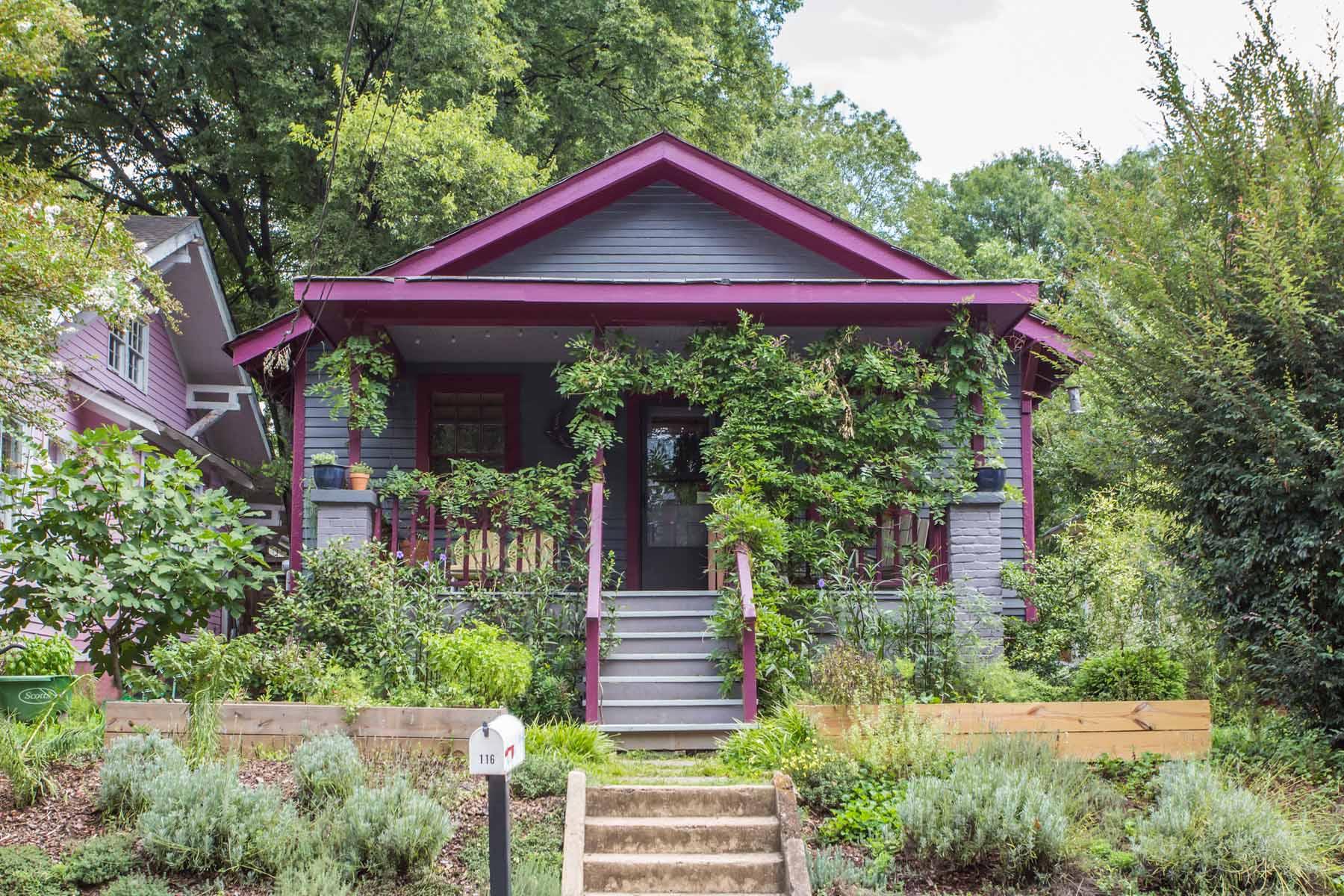 Einfamilienhaus für Verkauf beim Quintessential Cabbagetown Cool 116 Estoria Street SE Cabbagetown, Atlanta, Georgia 30316 Vereinigte Staaten