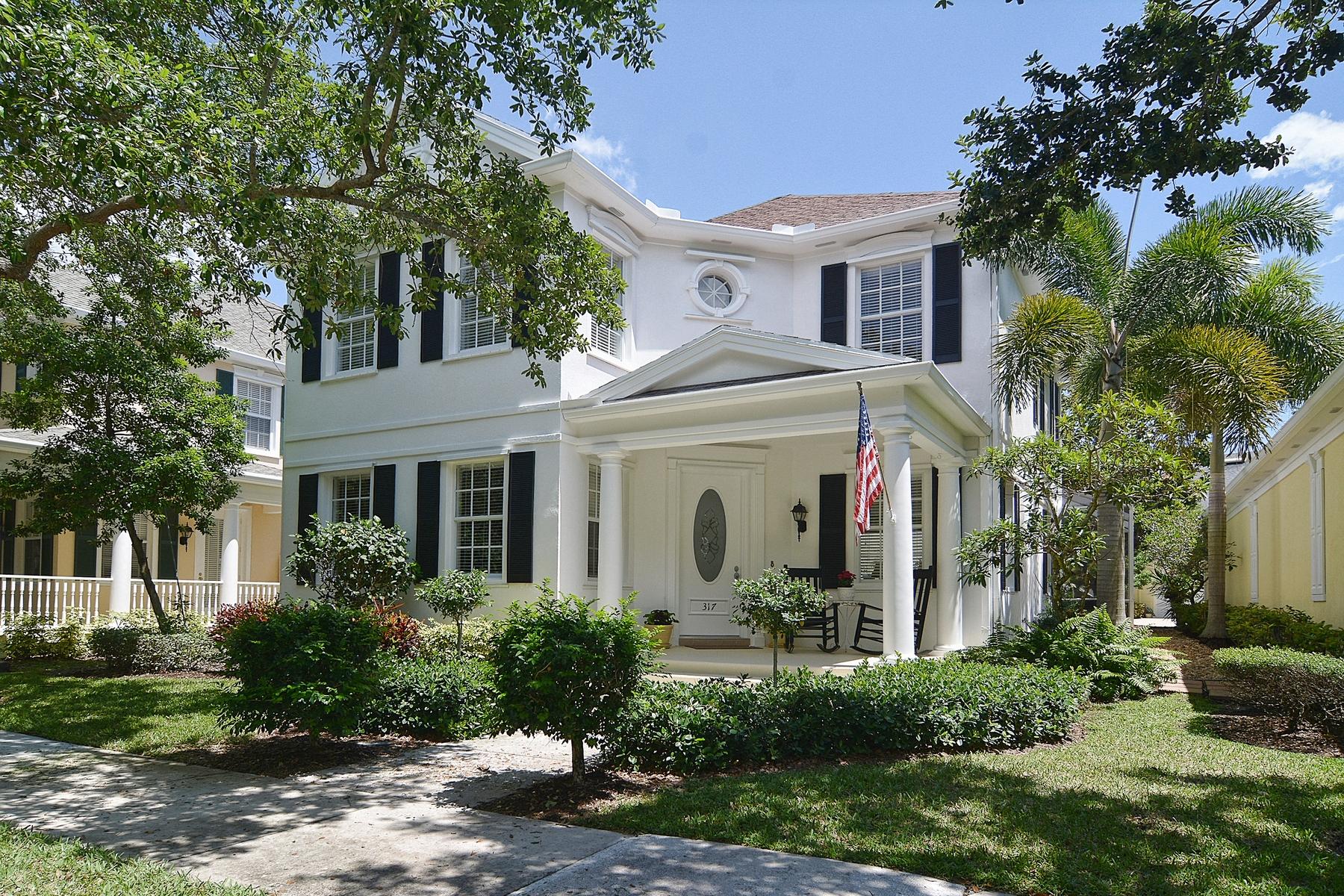 Einfamilienhaus für Verkauf beim 317 Sweet Bay Circle Jupiter, Florida 33458 Vereinigte Staaten