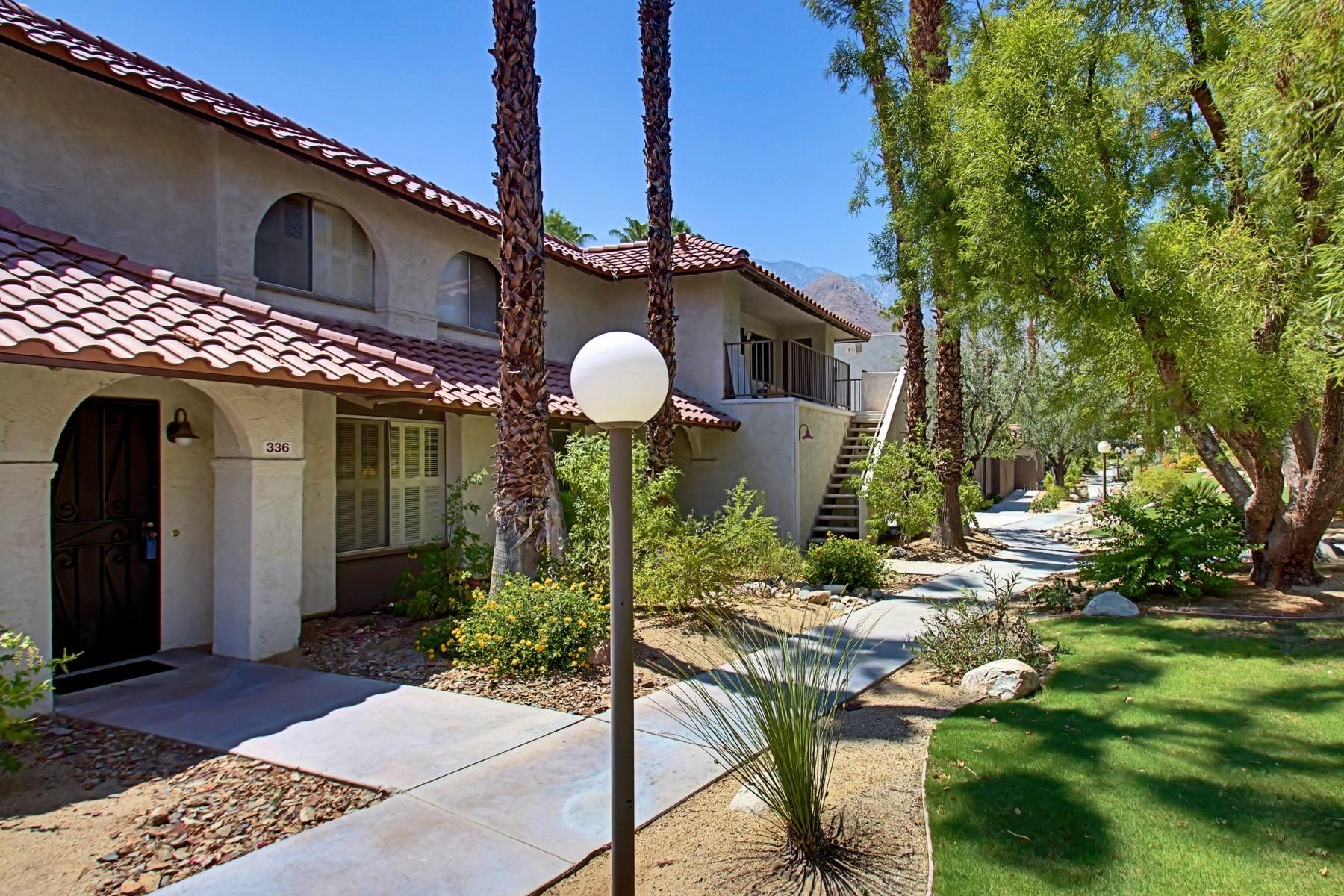 Copropriété pour l Vente à 336 West Santa Elena Road Palm Springs, Californie 92262 États-Unis