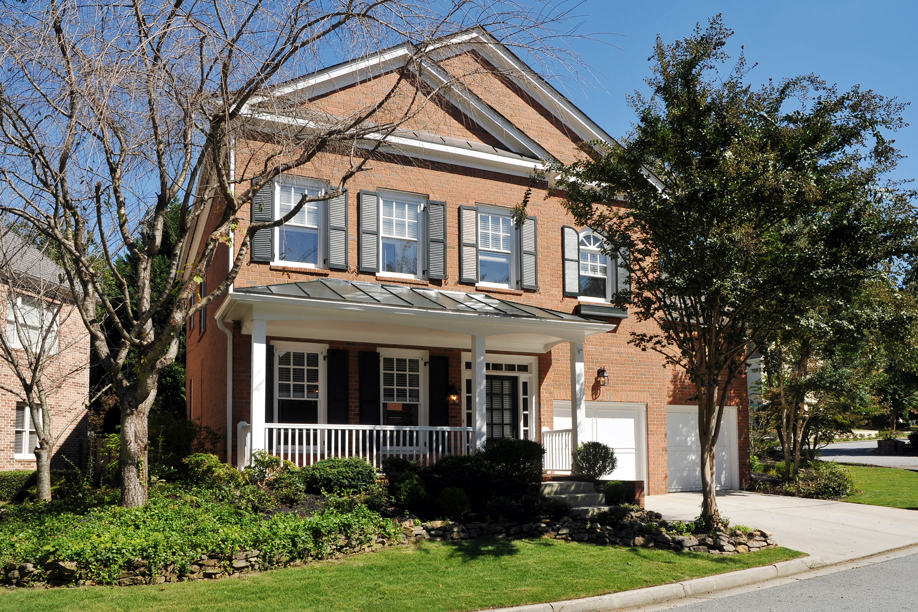 Property For Sale at Pretty Traditional Home in Gated Brookhaven Community