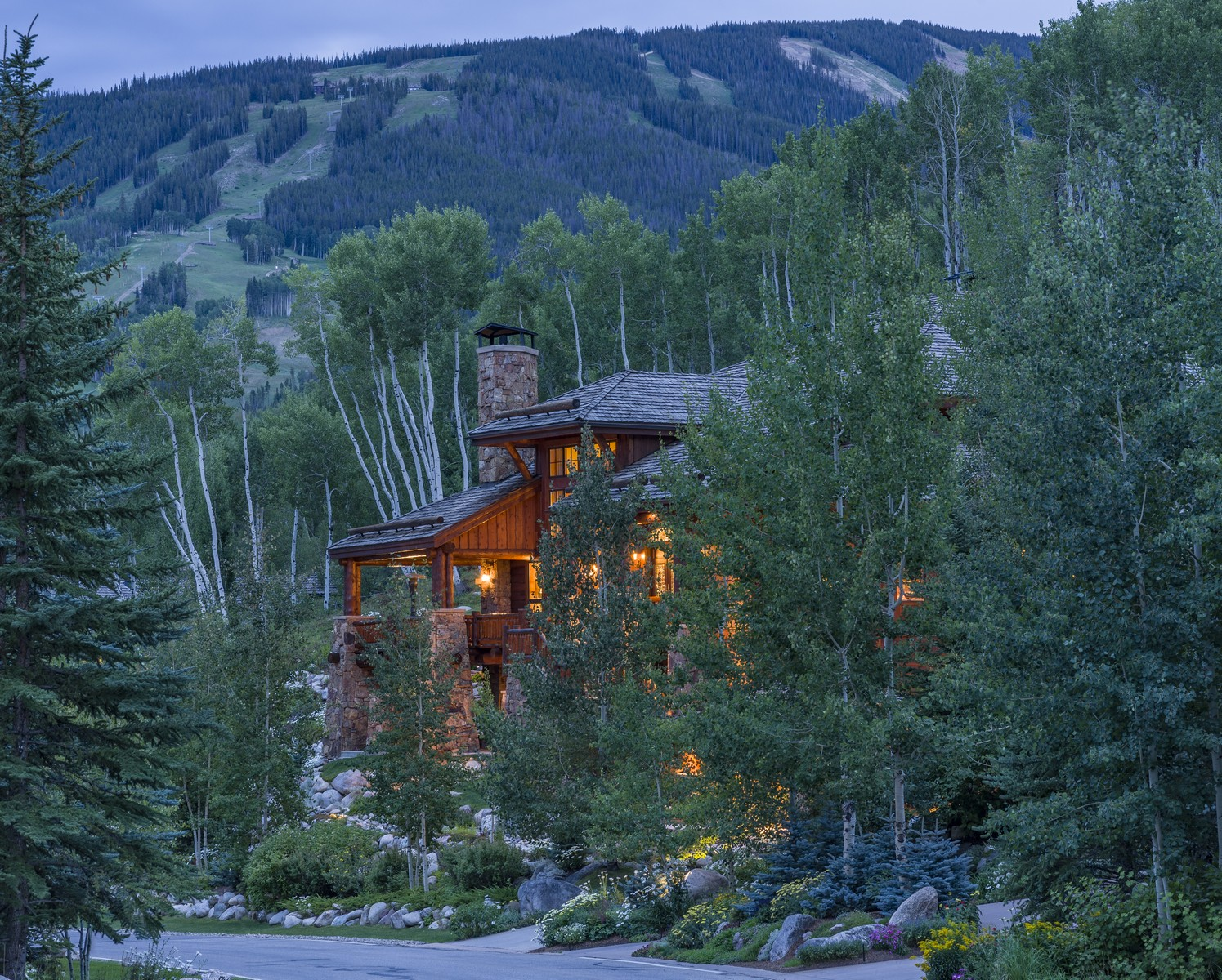 Moradia para Venda às Beaver Creek's Most Stunning Log Home 201 Borders Rd Avon, Colorado, 81620 Estados Unidos