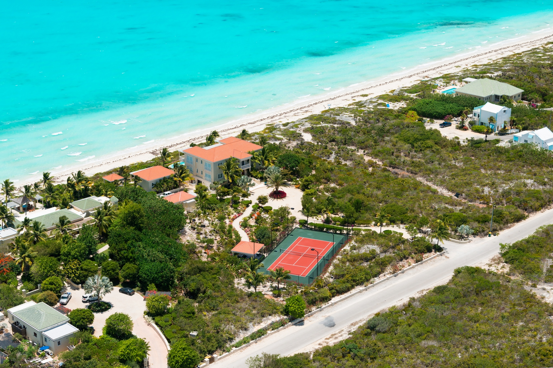Land for Sale at Outstanding Beachfront Land Long Bay, Providenciales Turks And Caicos Islands