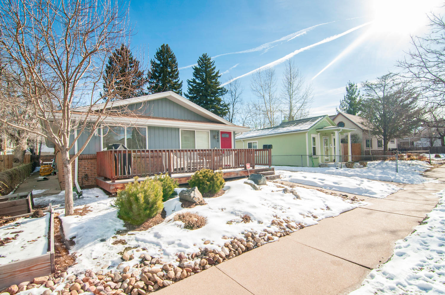Single Family Home for Sale at Cozy cottage meets urban style 3940 Osceola St Denver, Colorado 80212 United States