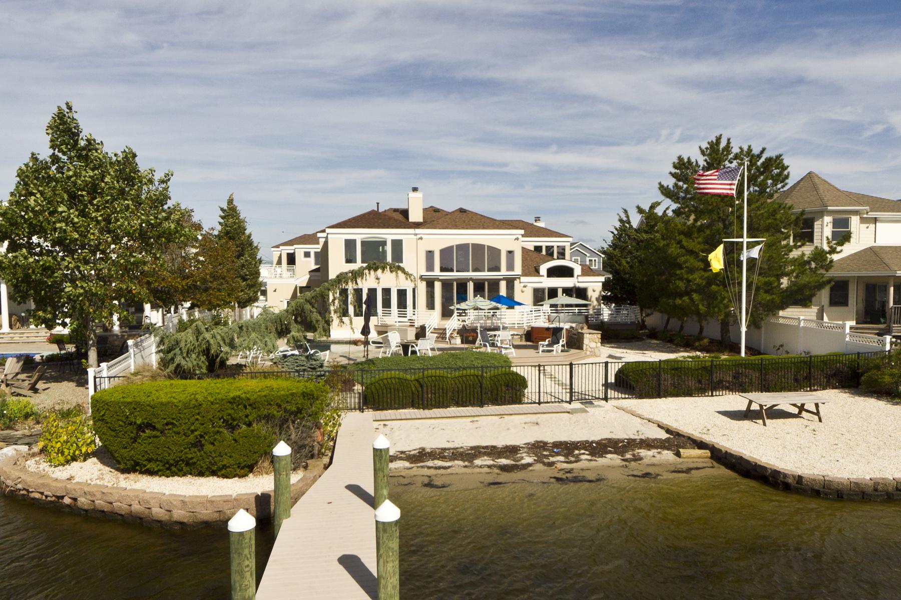 独户住宅 为 销售 在 Spectacular Covefront Home 40 Dickman Drive Lavallette, 新泽西州, 08735 美国