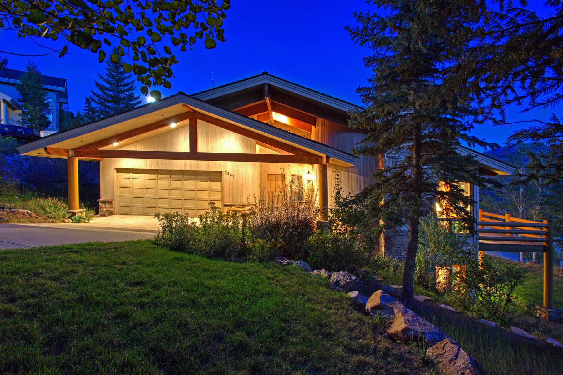 Casa Unifamiliar por un Venta en Custom Deer Valley Home on Prime View Lot 3365 Oak Leaf Ct Park City, Utah 84060 Estados Unidos