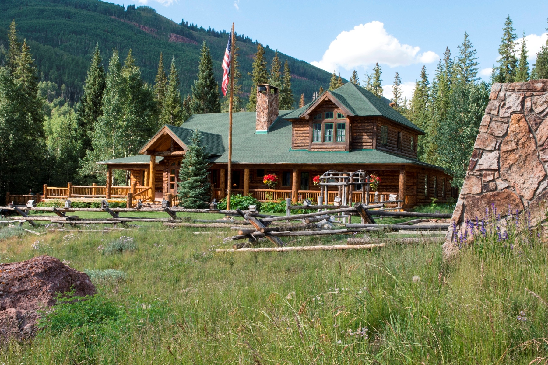 Maison unifamiliale pour l Vente à Double Top Ranch 6470 County Road 740 Crested Butte, Colorado, 81224 États-Unis