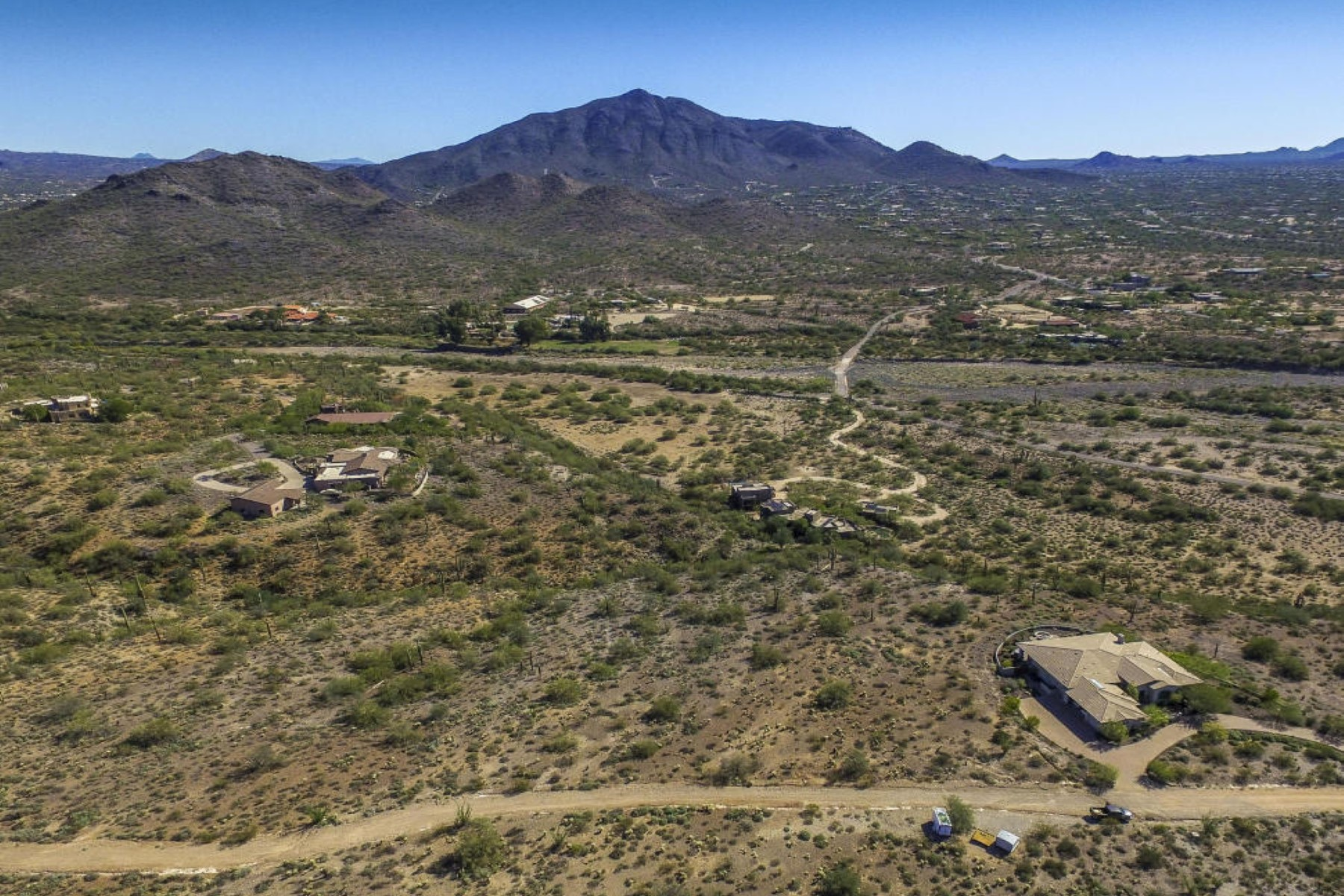 Property For Sale at Privacy right up against the Cave Creek Rec Park