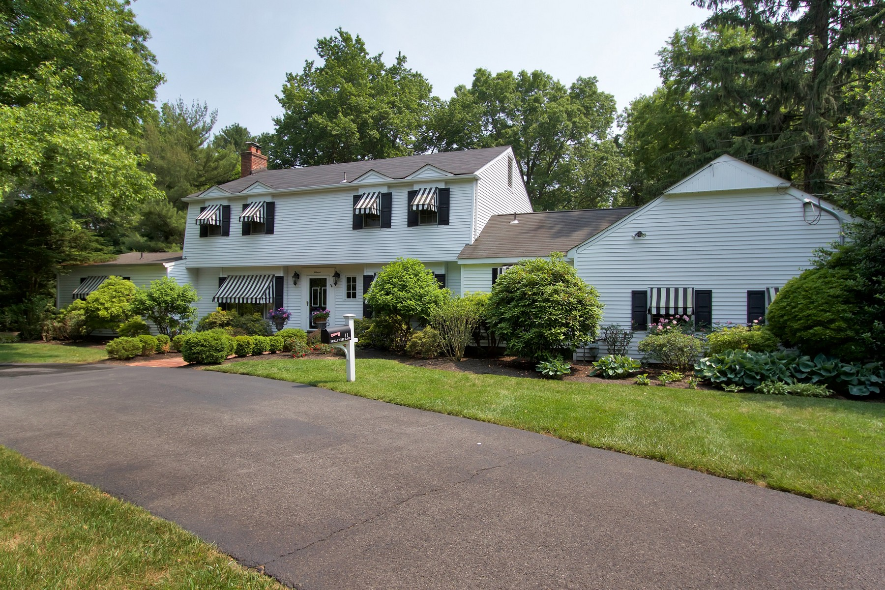 Single Family Home for Sale at Rumson Classic Colonial 11 Holly Tree Lane Rumson, New Jersey, 07760 United States