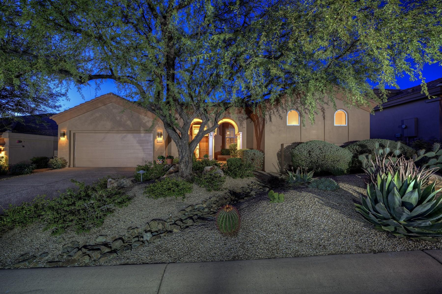 Casa para uma família para Venda às Spectacular Legend Trail Home 9474 E Cavalry DR Scottsdale, Arizona 85262 Estados Unidos