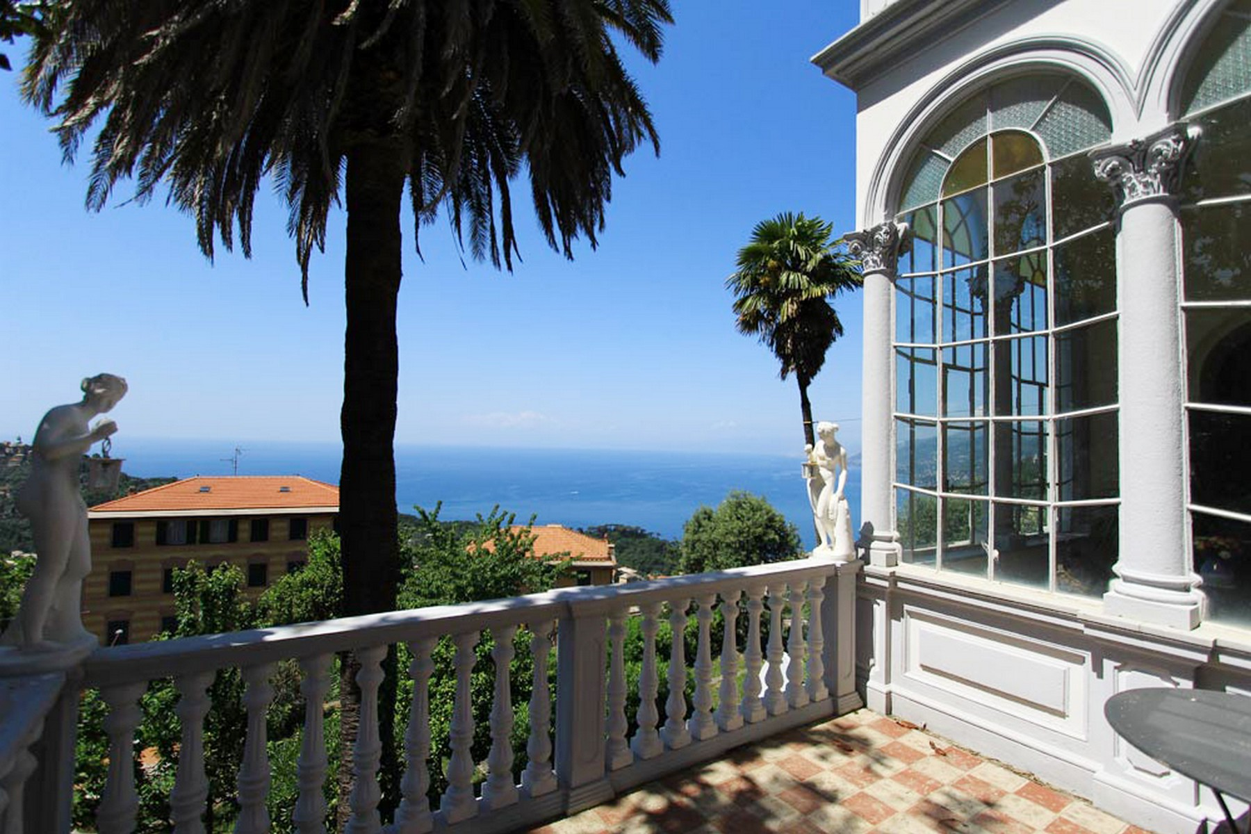 Single Family Home for Sale at Art Noveau villa with awe-inspiring views Via XXV Aprile Camogli, 16032 Italy