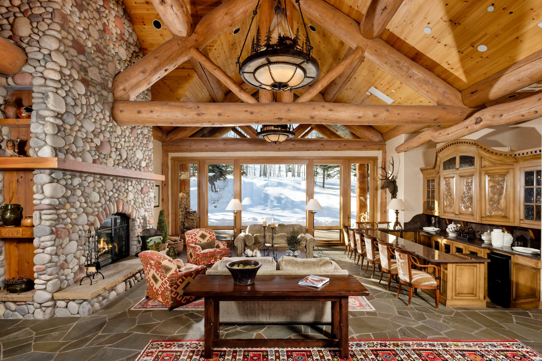 Single Family Home for Rent at 849 Serviceberry Lane Snowmass Village, Colorado, 81615 United States